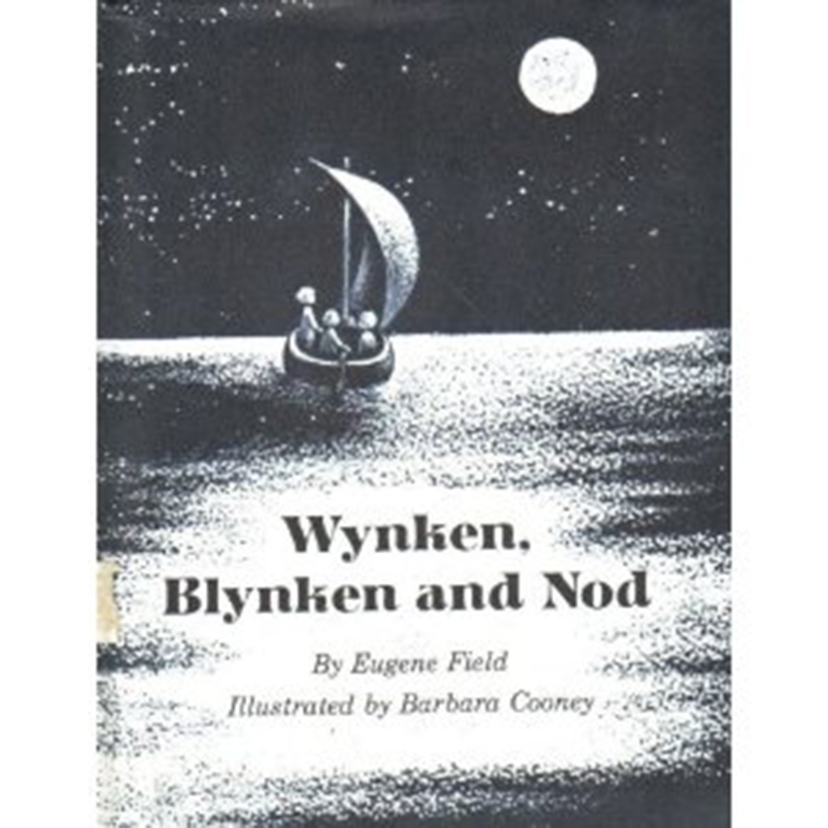 Printable Wynken, Blynken, and Nod Audiobook Cover Art