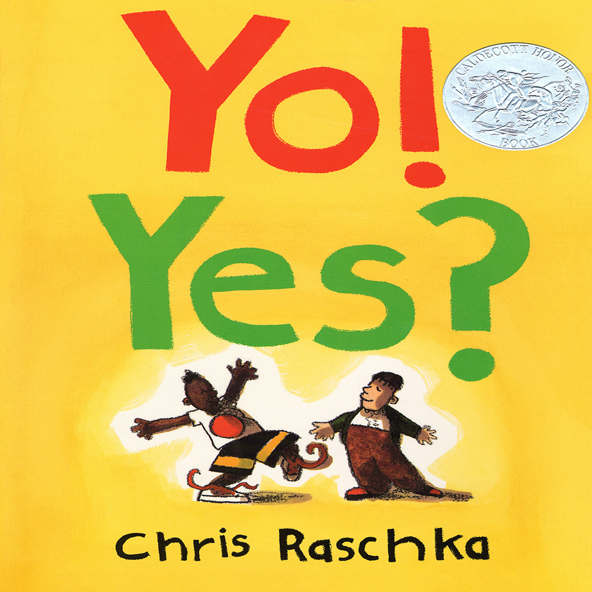 Printable Yo! Yes? Audiobook Cover Art