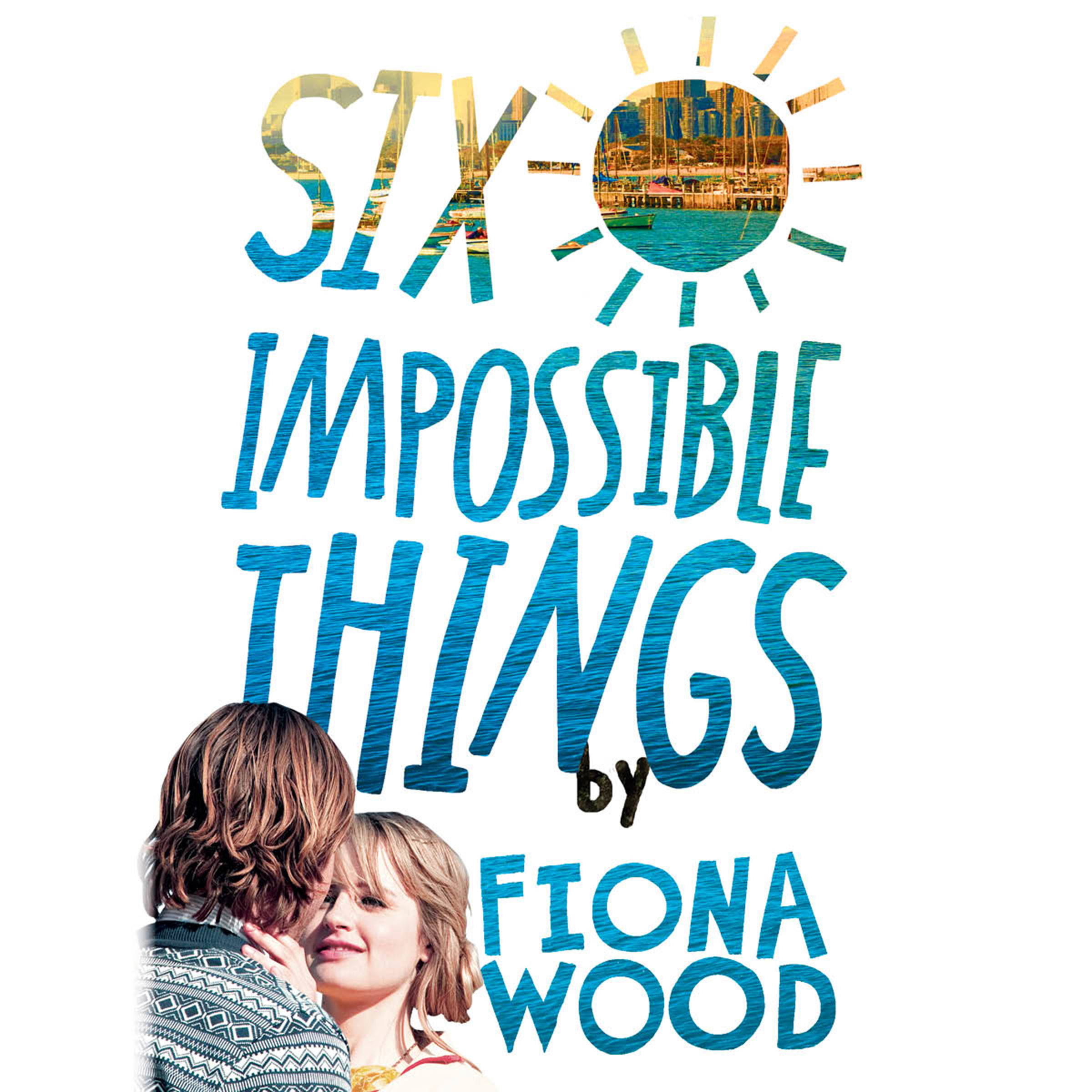 Printable Six Impossible Things Audiobook Cover Art