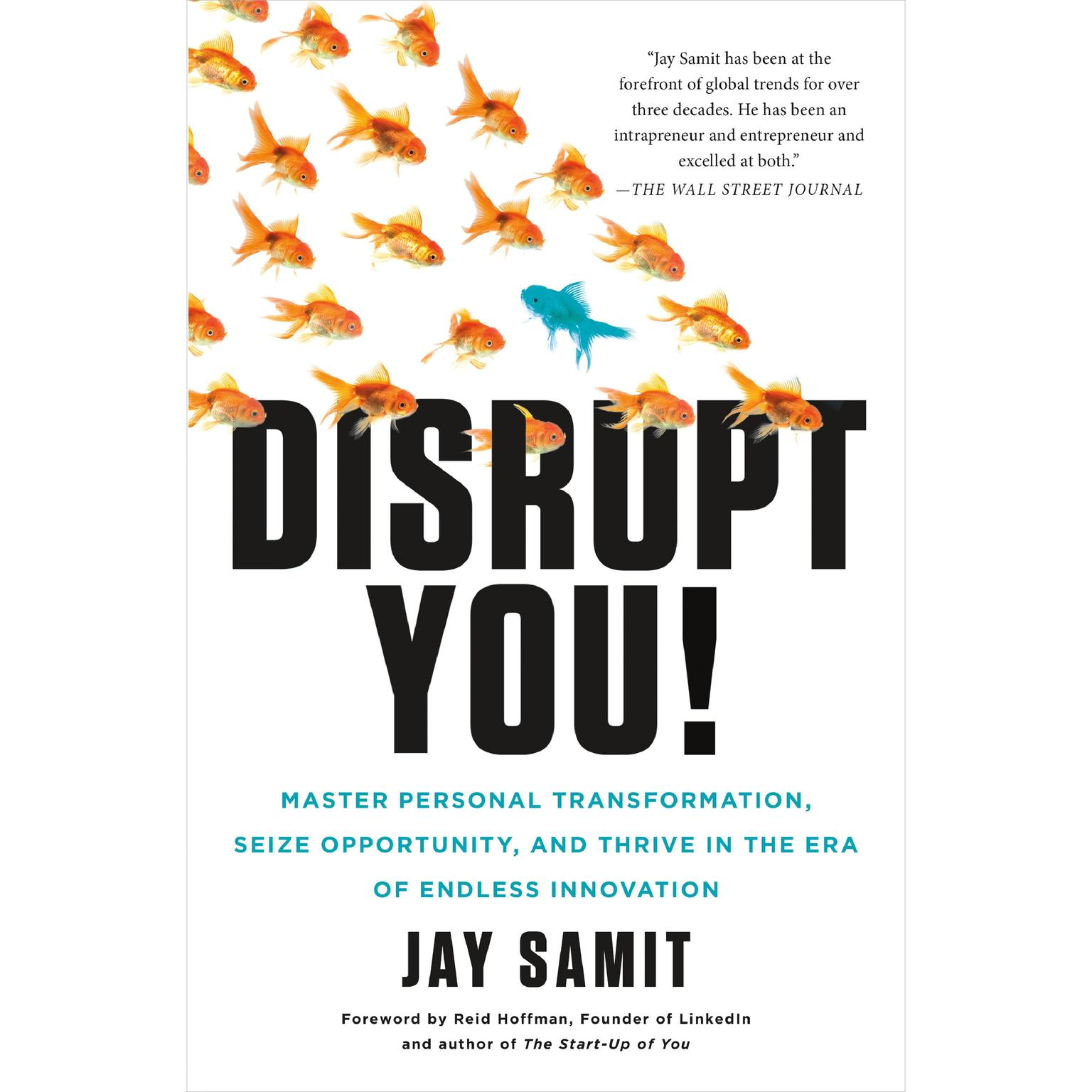 Printable Disrupt You!: Master Personal Transformation, Seize Opportunity, and Thrive in the Era of Endless Innovation Audiobook Cover Art