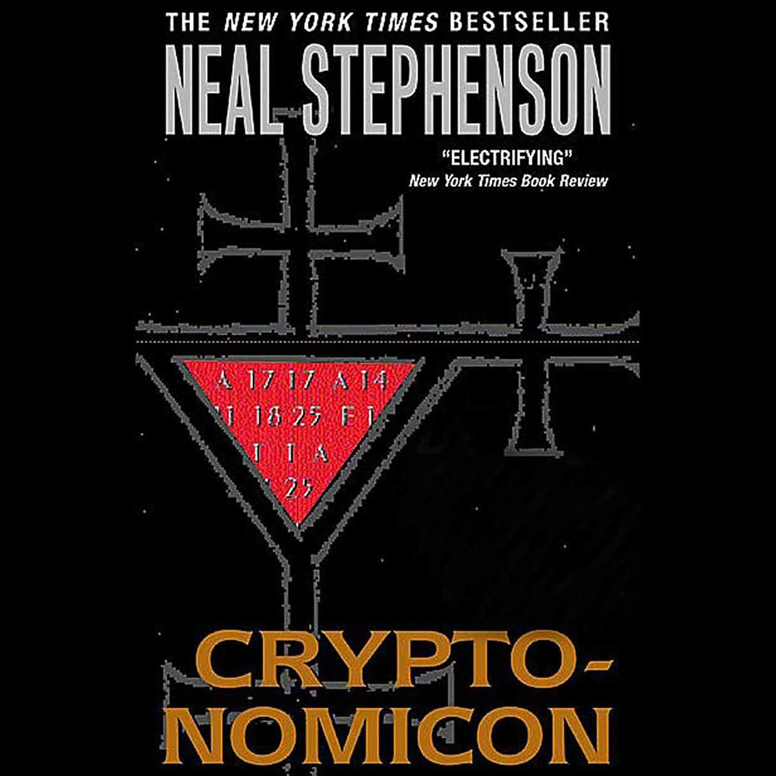 Printable Cryptonomicon Audiobook Cover Art