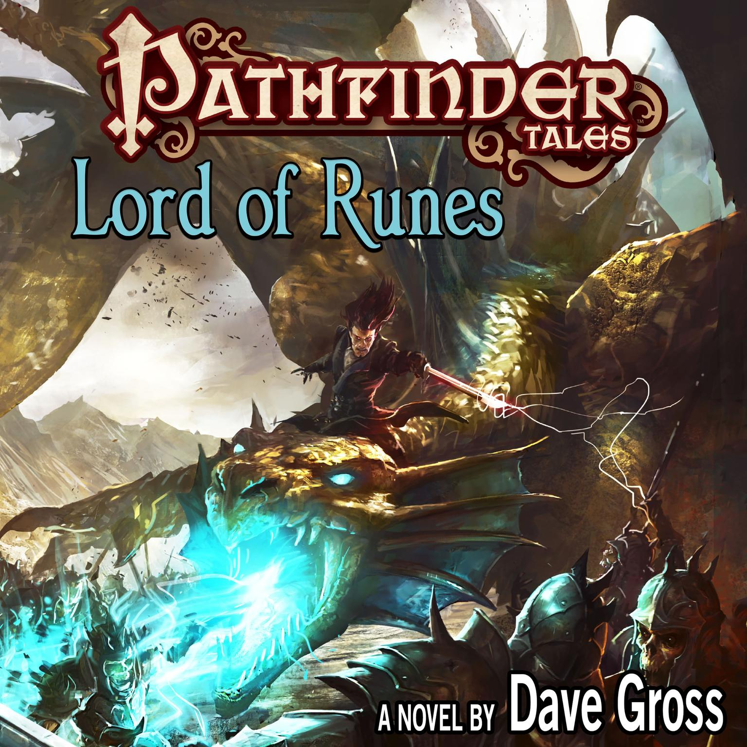 Printable Pathfinder Tales: Lord of Runes Audiobook Cover Art