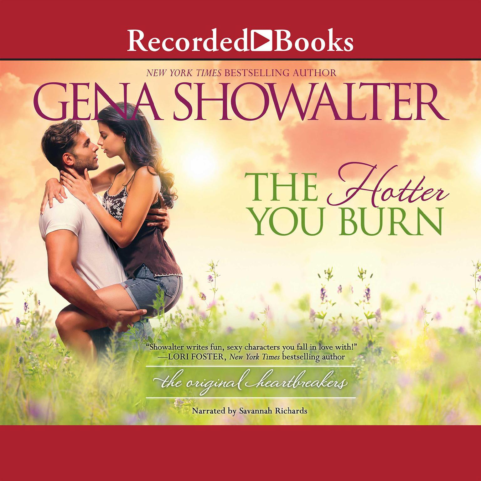 Printable The Hotter You Burn Audiobook Cover Art