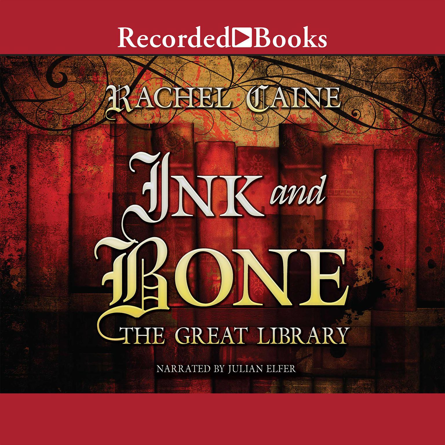 Printable Ink and Bone Audiobook Cover Art