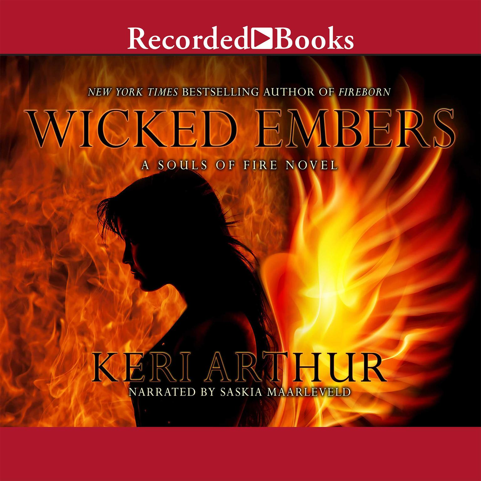 Printable Wicked Embers: A Souls of Fire Novel Audiobook Cover Art