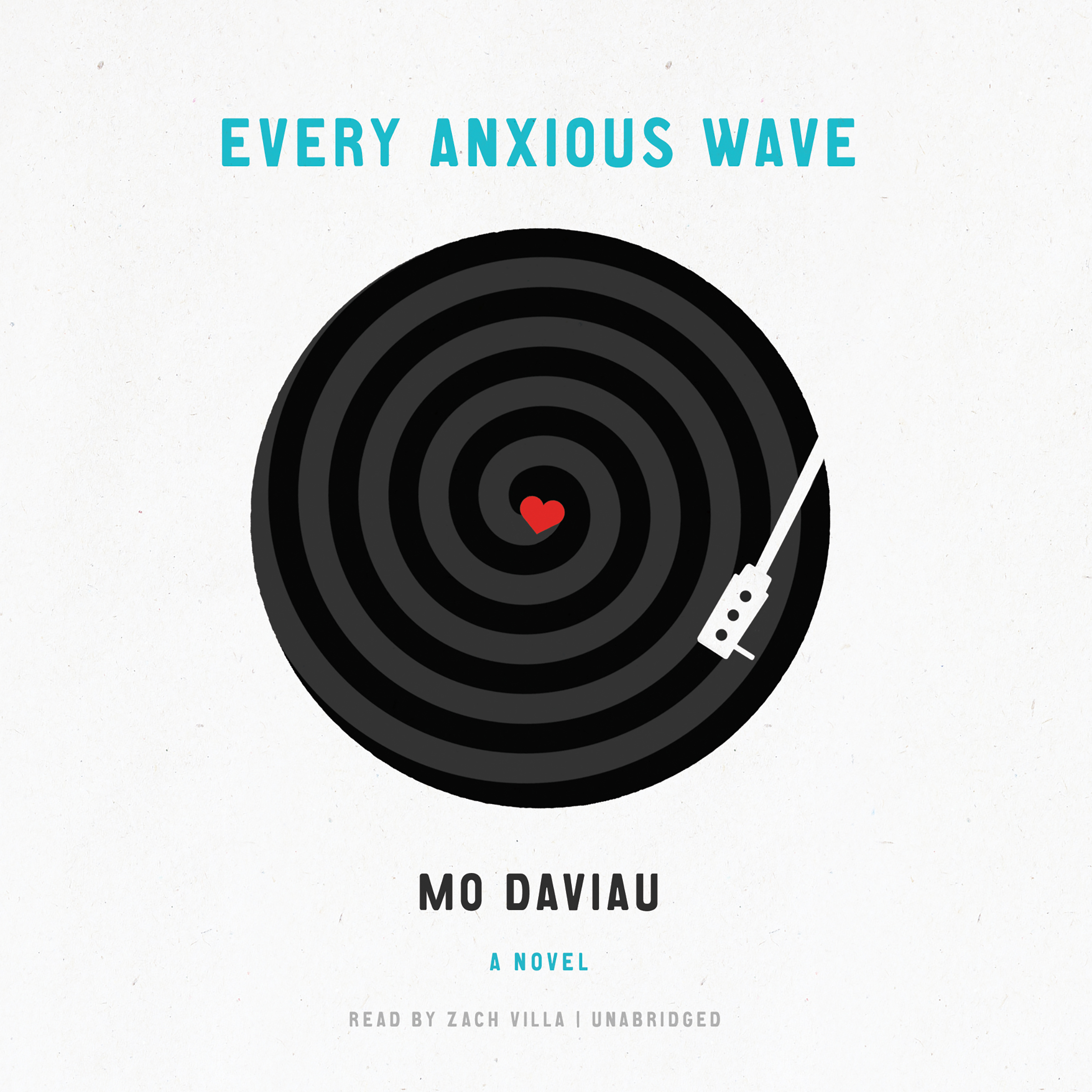 Printable Every Anxious Wave Audiobook Cover Art