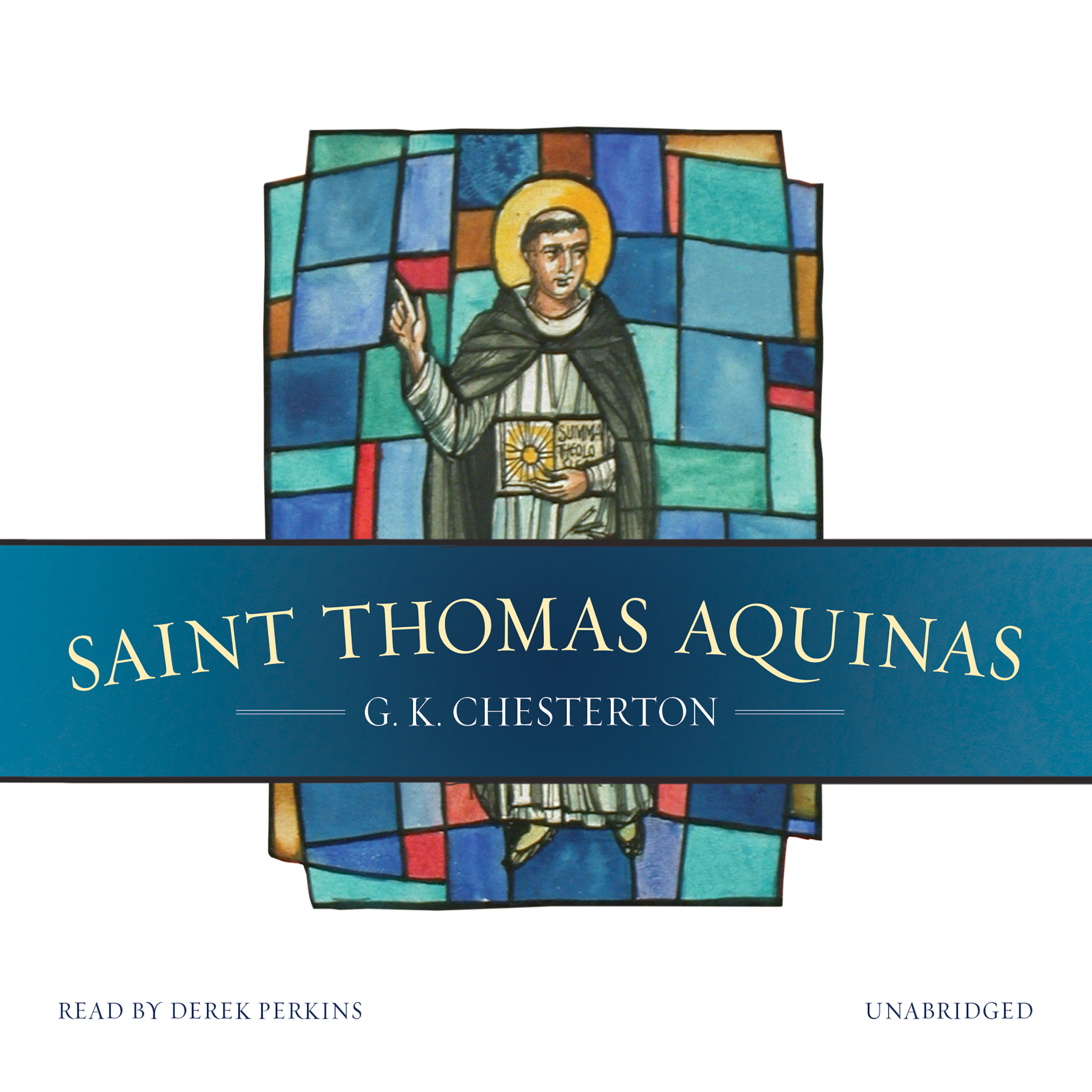 Printable Saint Thomas Aquinas Audiobook Cover Art