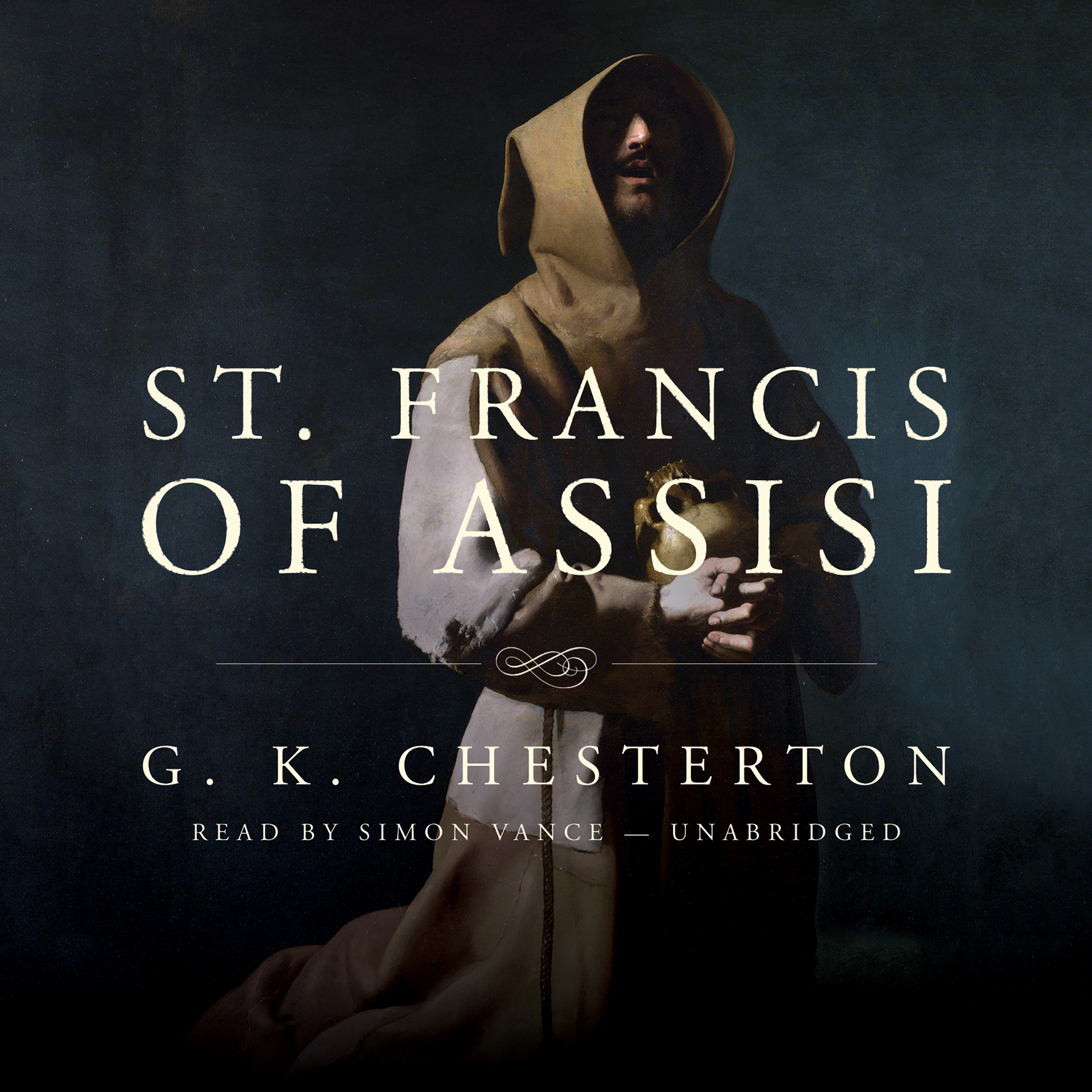 Printable St. Francis of Assisi Audiobook Cover Art