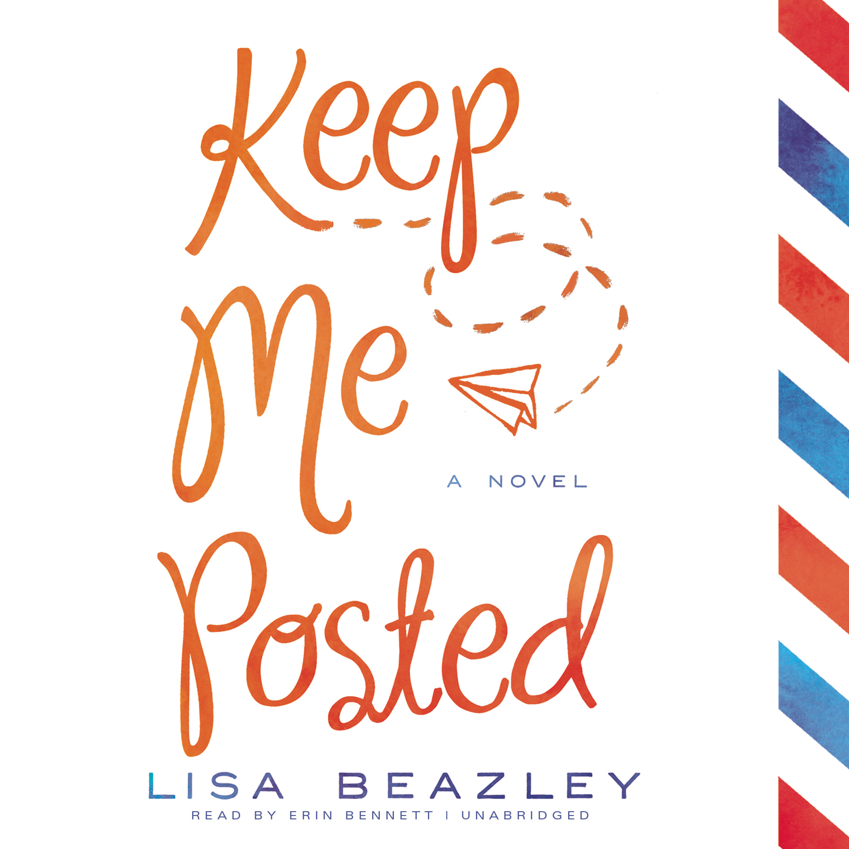 Printable Keep Me Posted Audiobook Cover Art