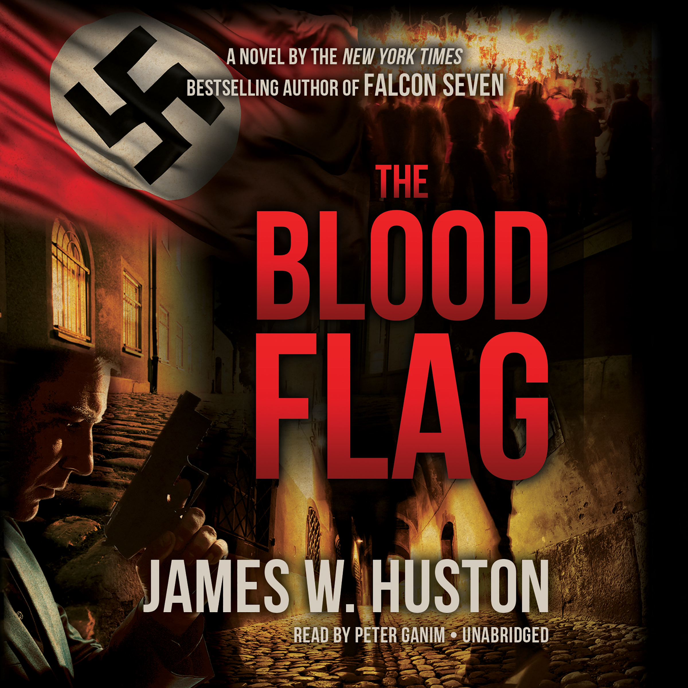 Printable The Blood Flag Audiobook Cover Art