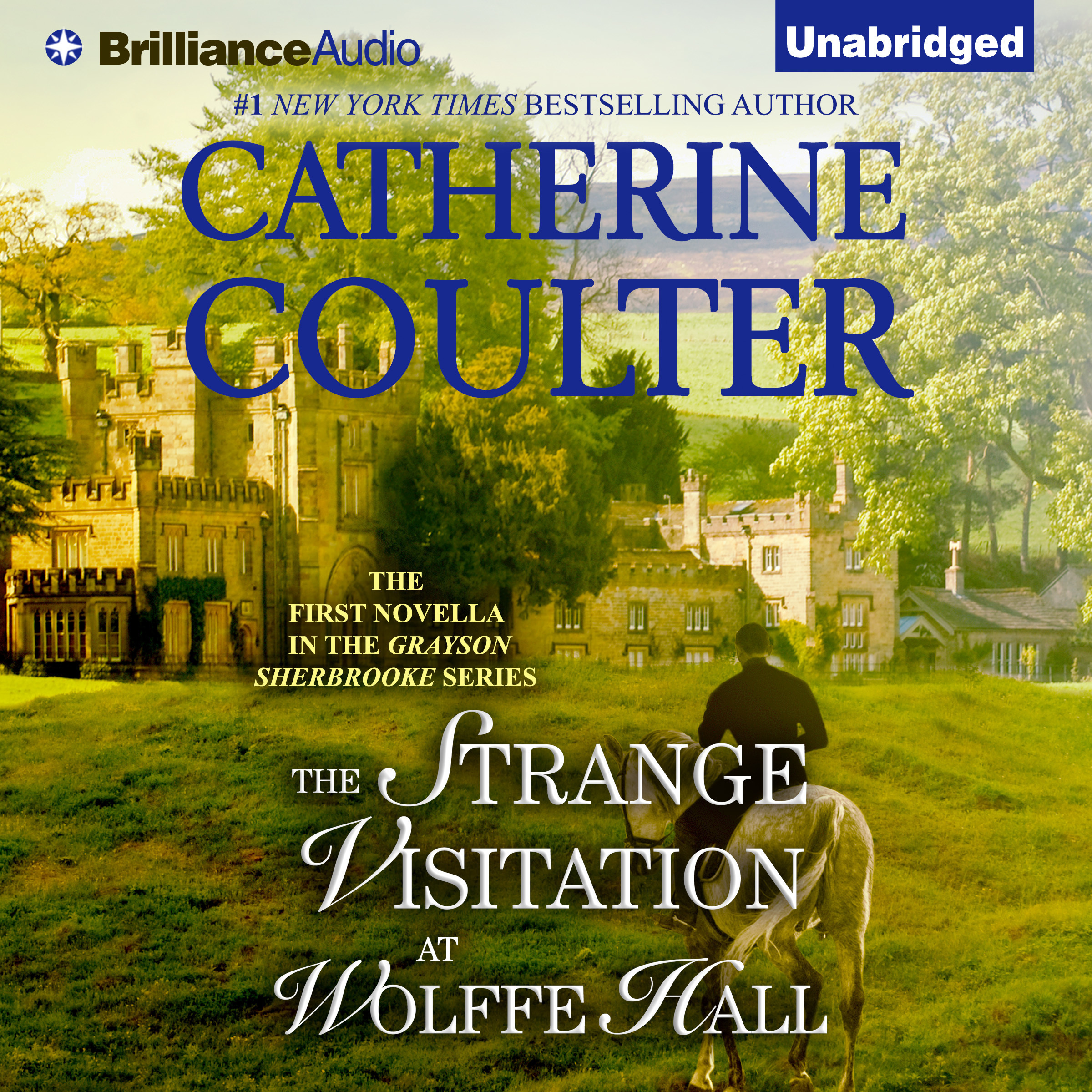 Printable The Strange Visitation at Wolffe Hall Audiobook Cover Art