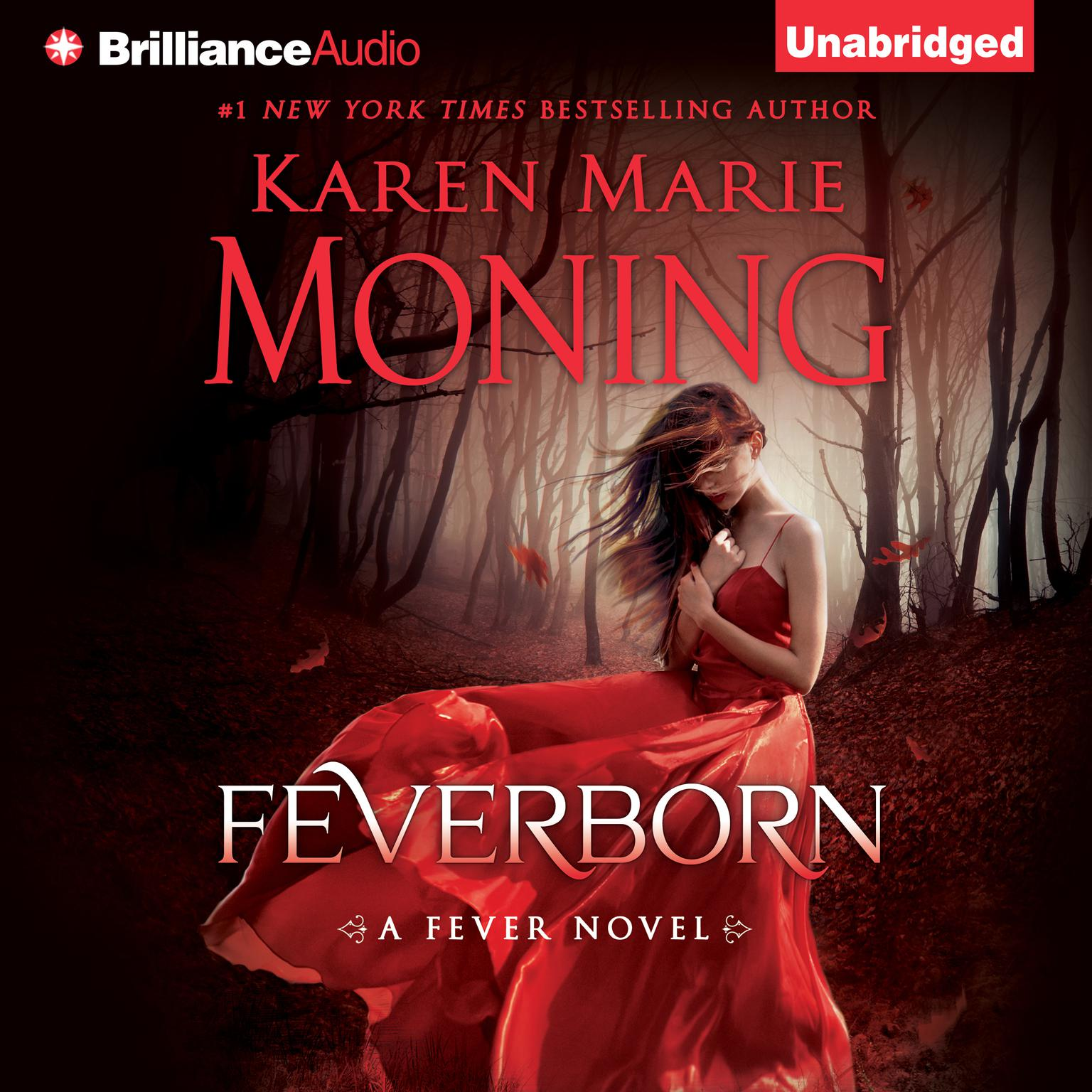 Printable Feverborn Audiobook Cover Art