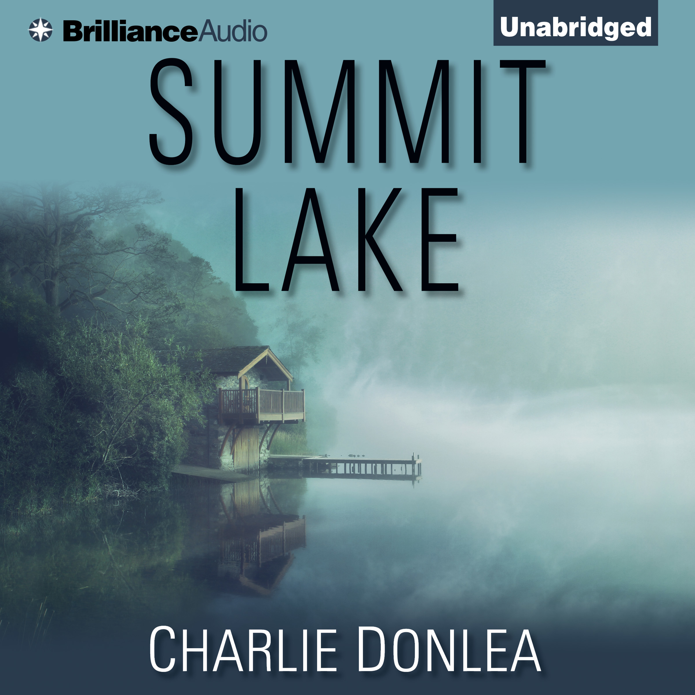 Printable Summit Lake Audiobook Cover Art