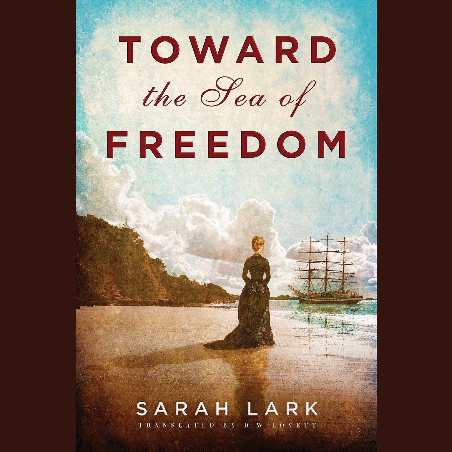 Printable Toward the Sea of Freedom Audiobook Cover Art