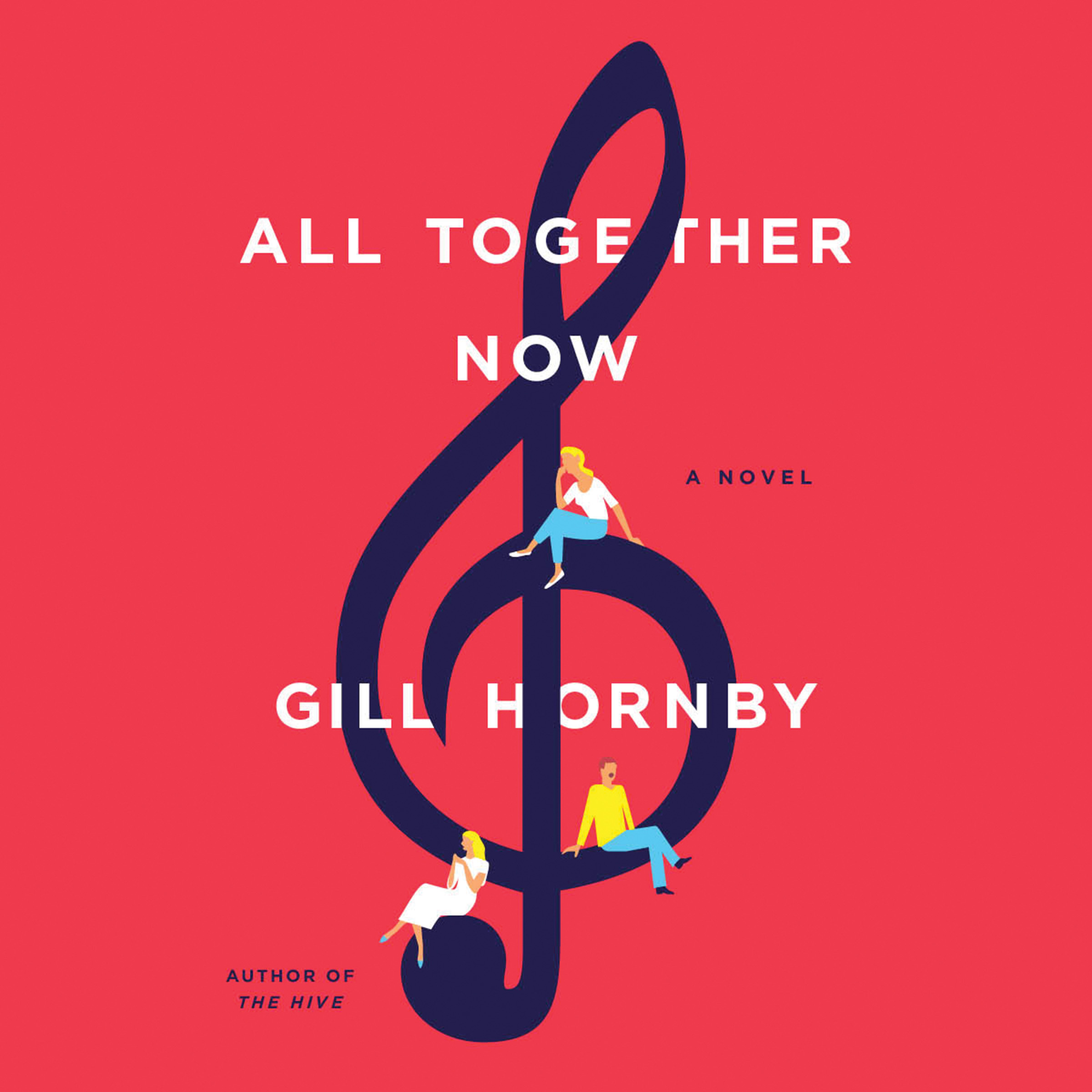 Printable All Together Now: A Novel Audiobook Cover Art