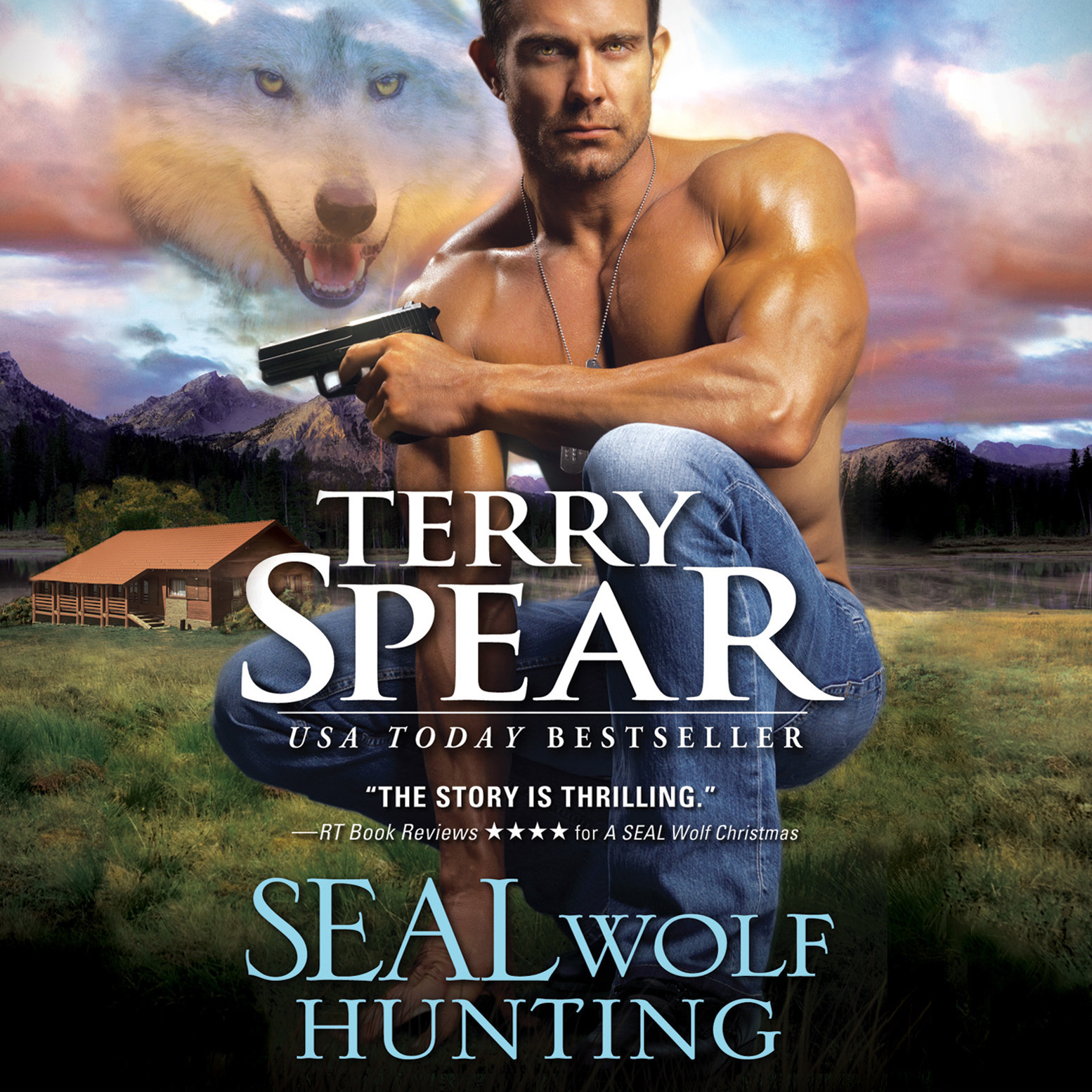 Printable SEAL Wolf Hunting Audiobook Cover Art