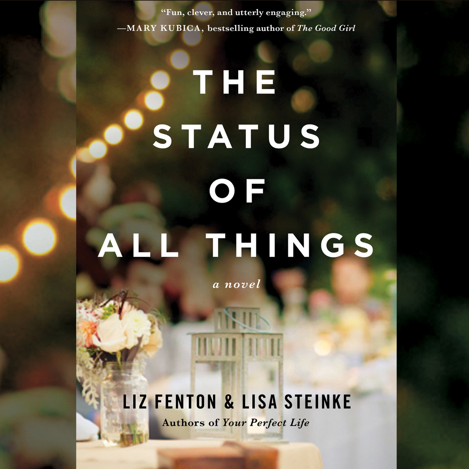 Printable The Status of All Things: A Novel Audiobook Cover Art