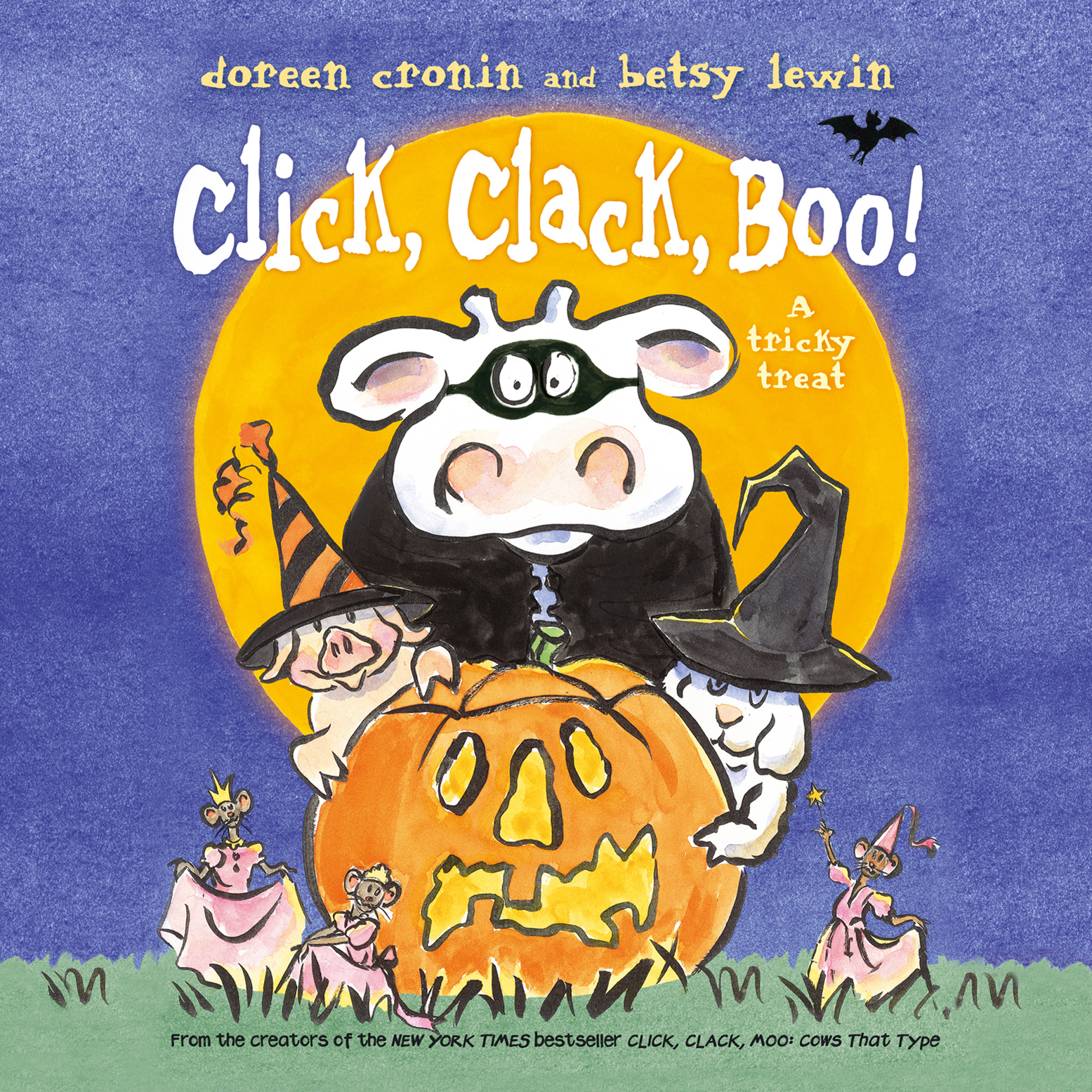 Printable Click, Clack, Boo!: A Tricky Treat Audiobook Cover Art