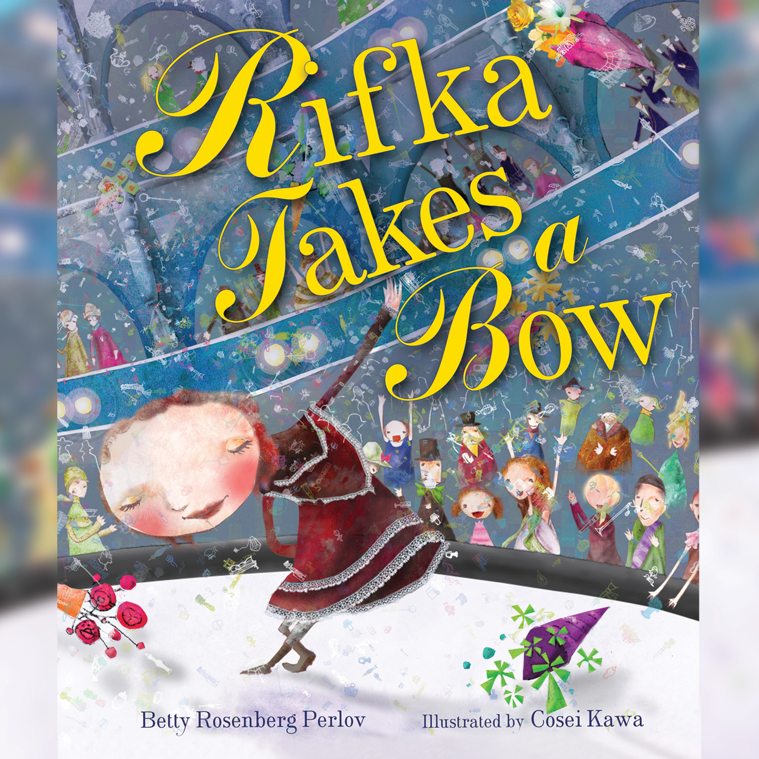 Printable Rifka Takes a Bow Audiobook Cover Art