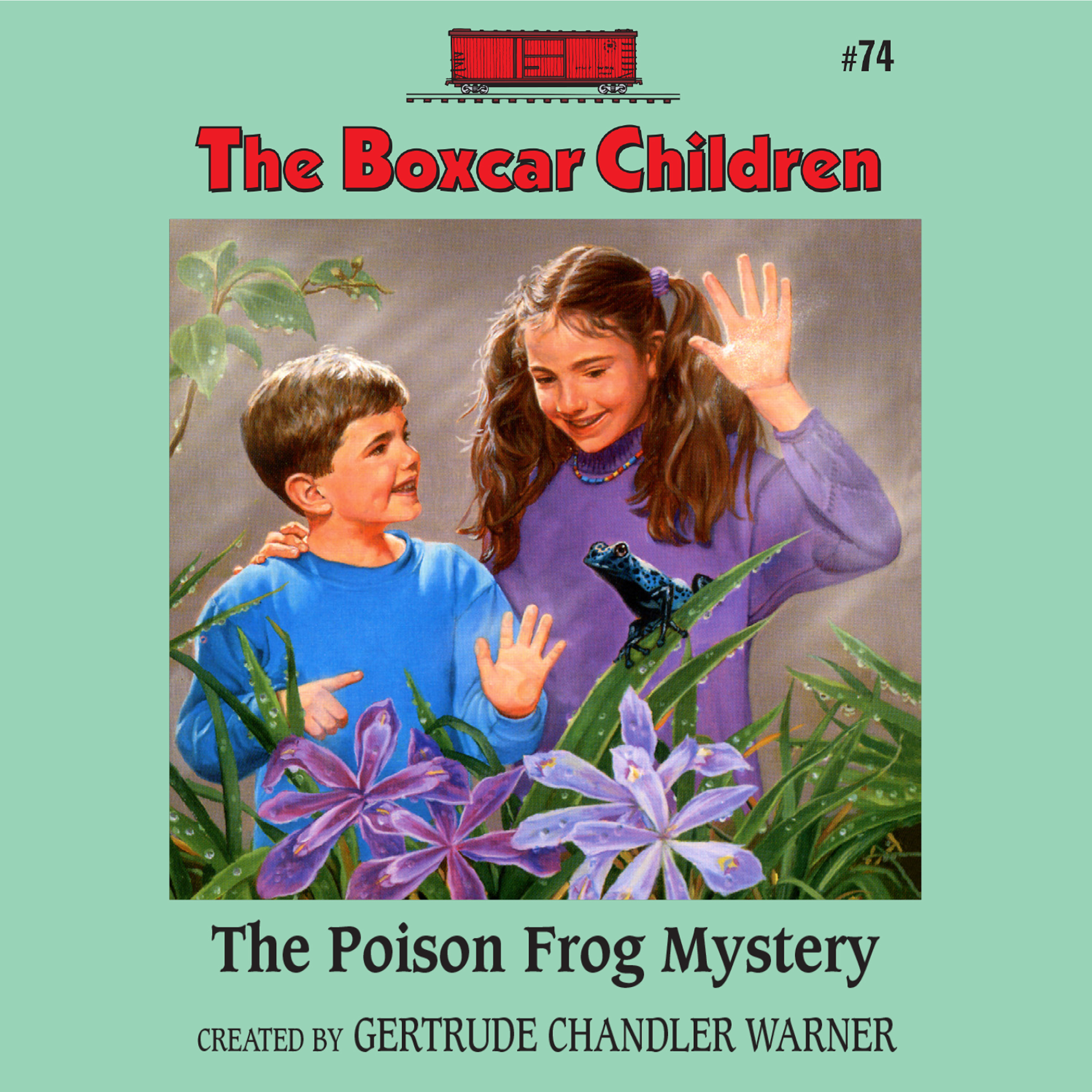 Printable The Poison Frog Mystery Audiobook Cover Art