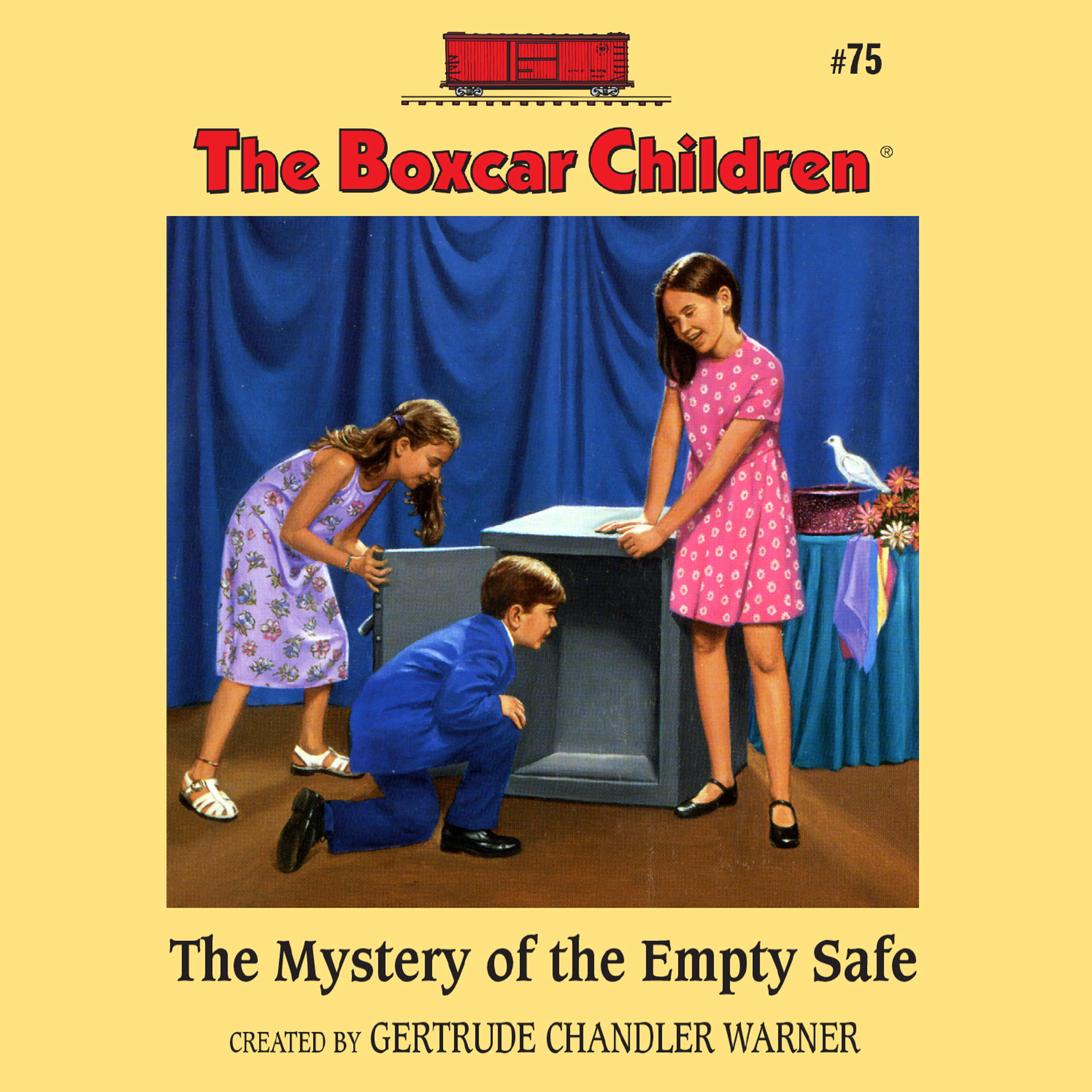 Printable The Mystery of the Empty Safe Audiobook Cover Art