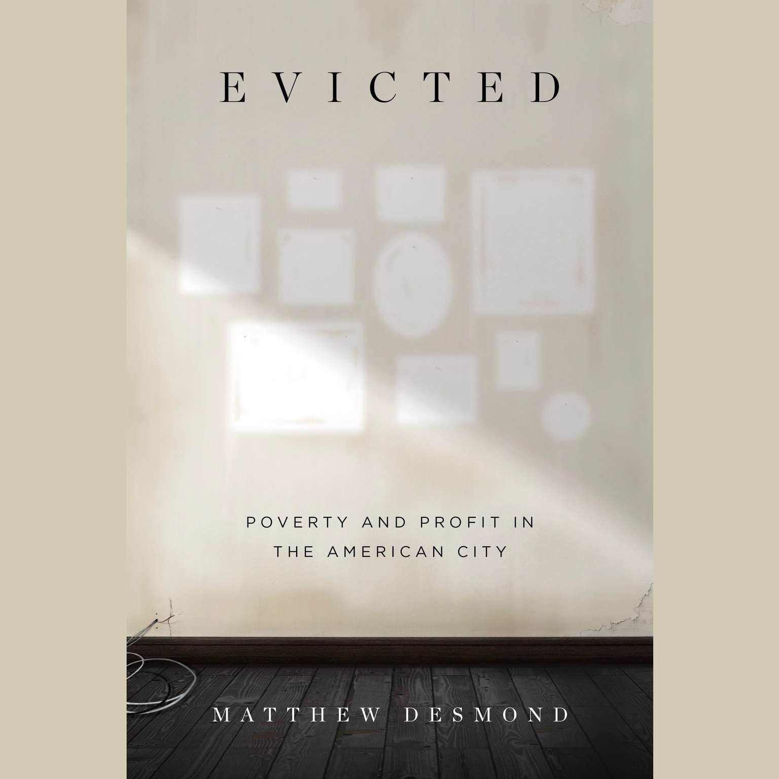 Printable Evicted: Poverty and Profit in the American City Audiobook Cover Art