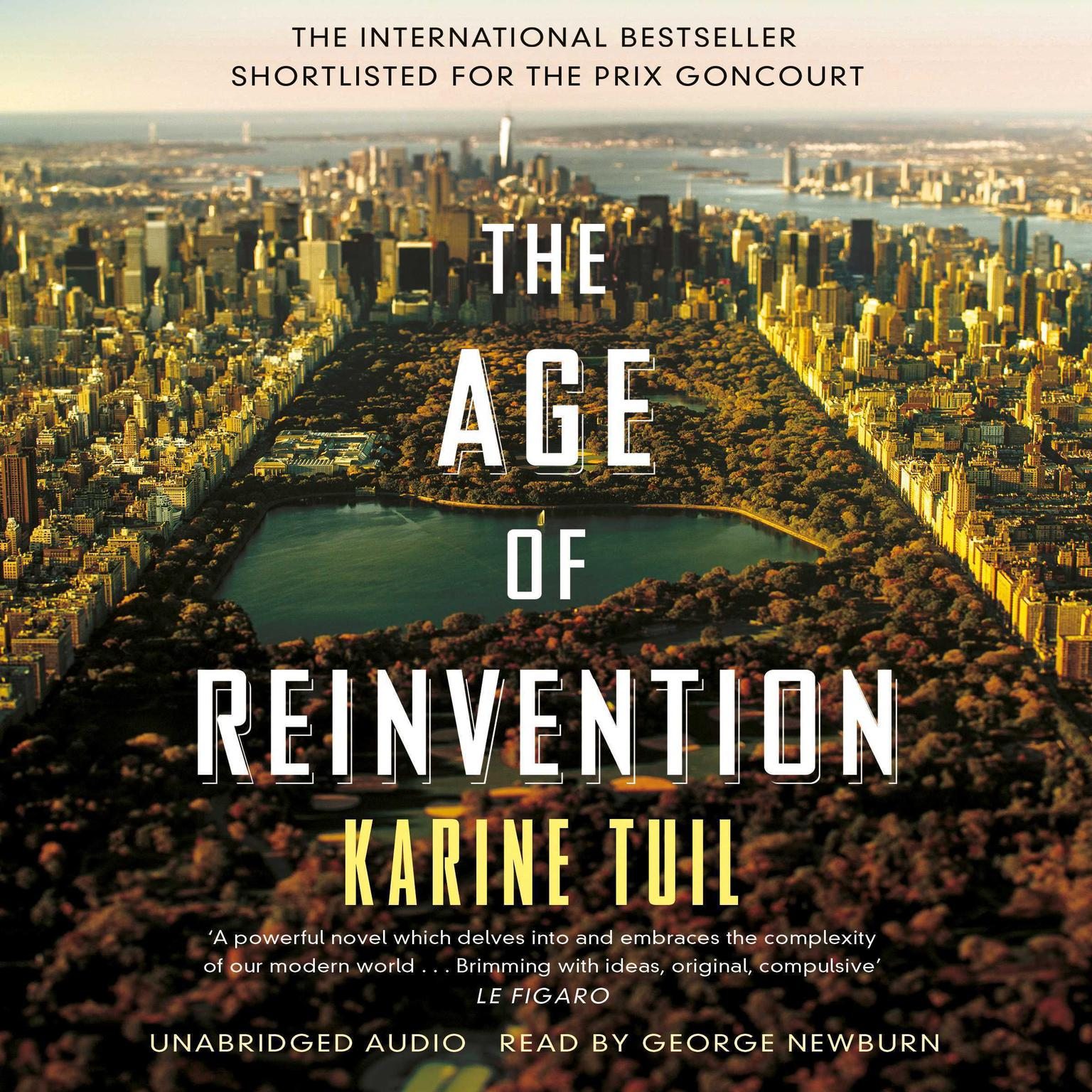 Printable The Age of Reinvention Audiobook Cover Art
