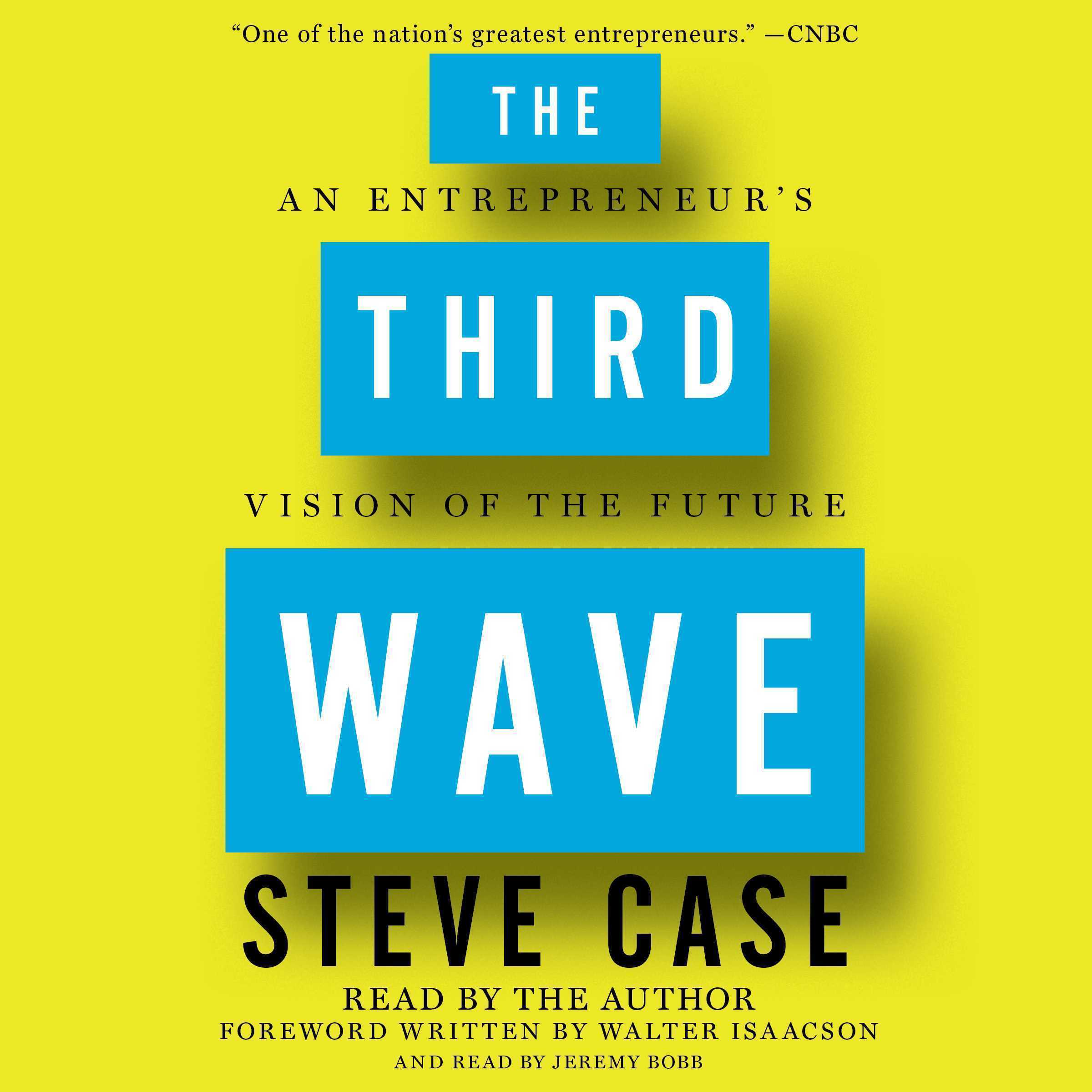 Printable The Third Wave: An Entrepreneur's Vision of the Future Audiobook Cover Art