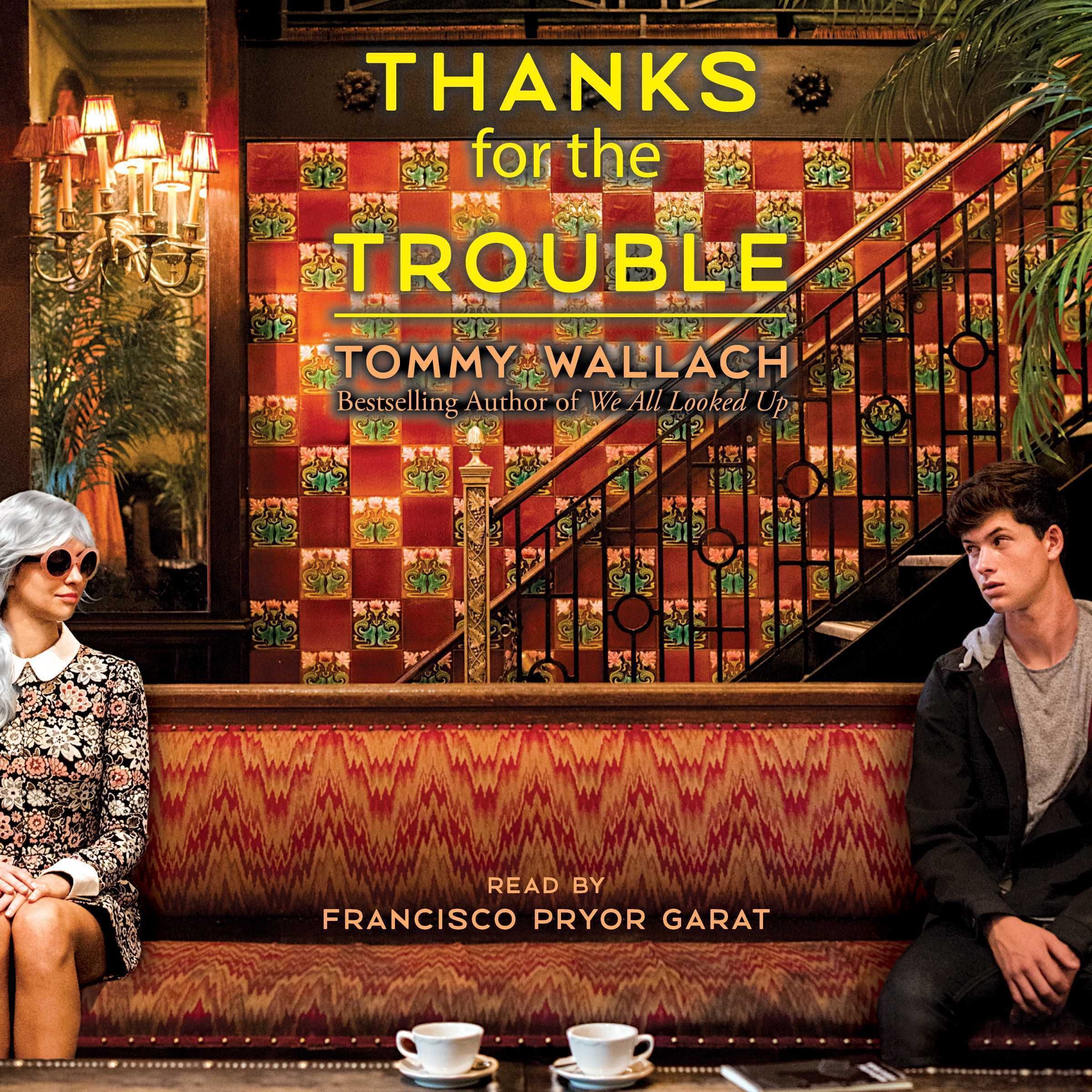 Printable Thanks for the Trouble Audiobook Cover Art