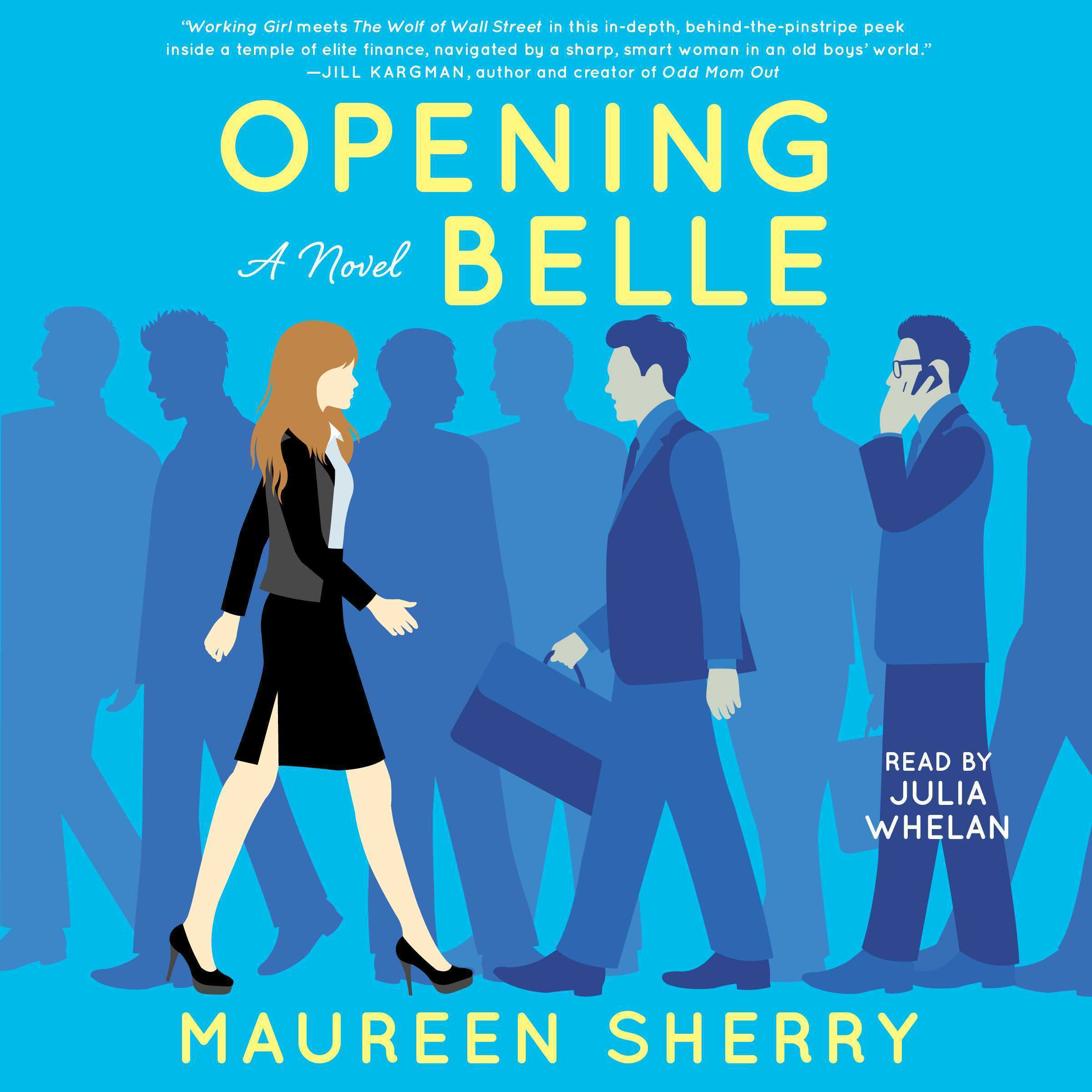 Printable Opening Belle: A Novel Audiobook Cover Art