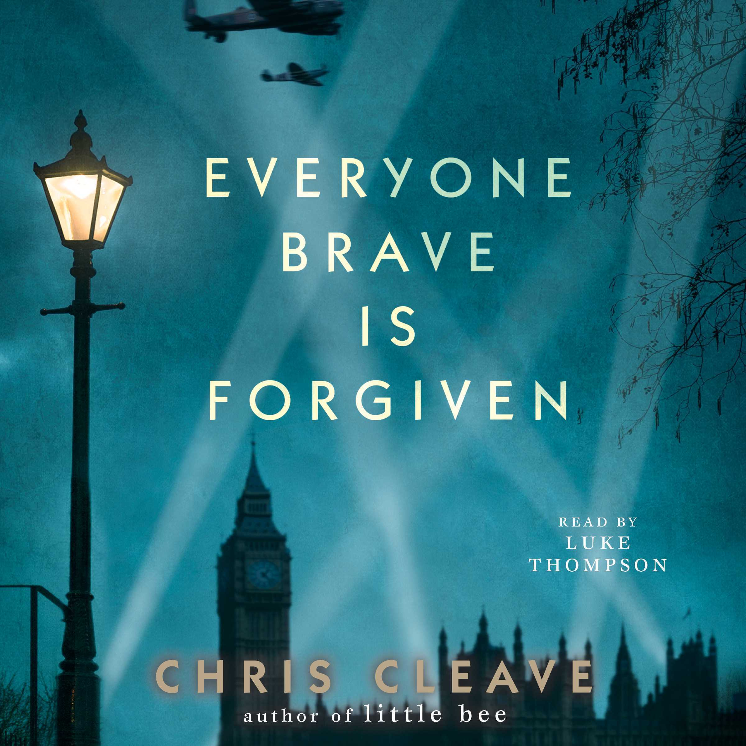 Printable Everyone Brave is Forgiven Audiobook Cover Art