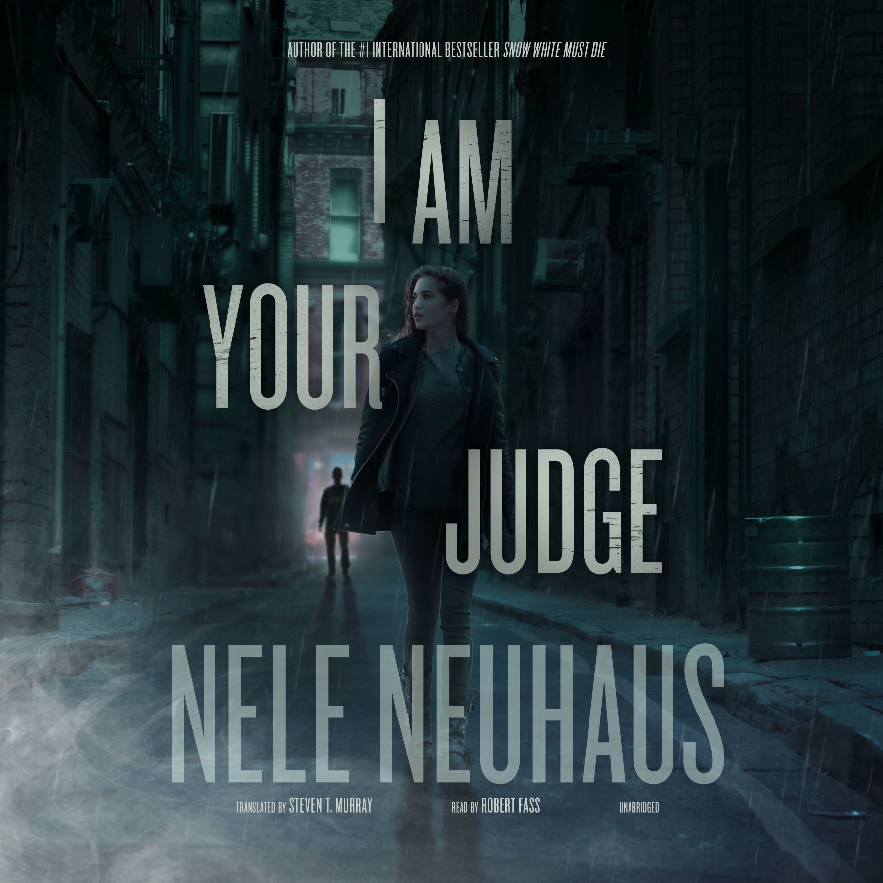 Printable I Am Your Judge Audiobook Cover Art