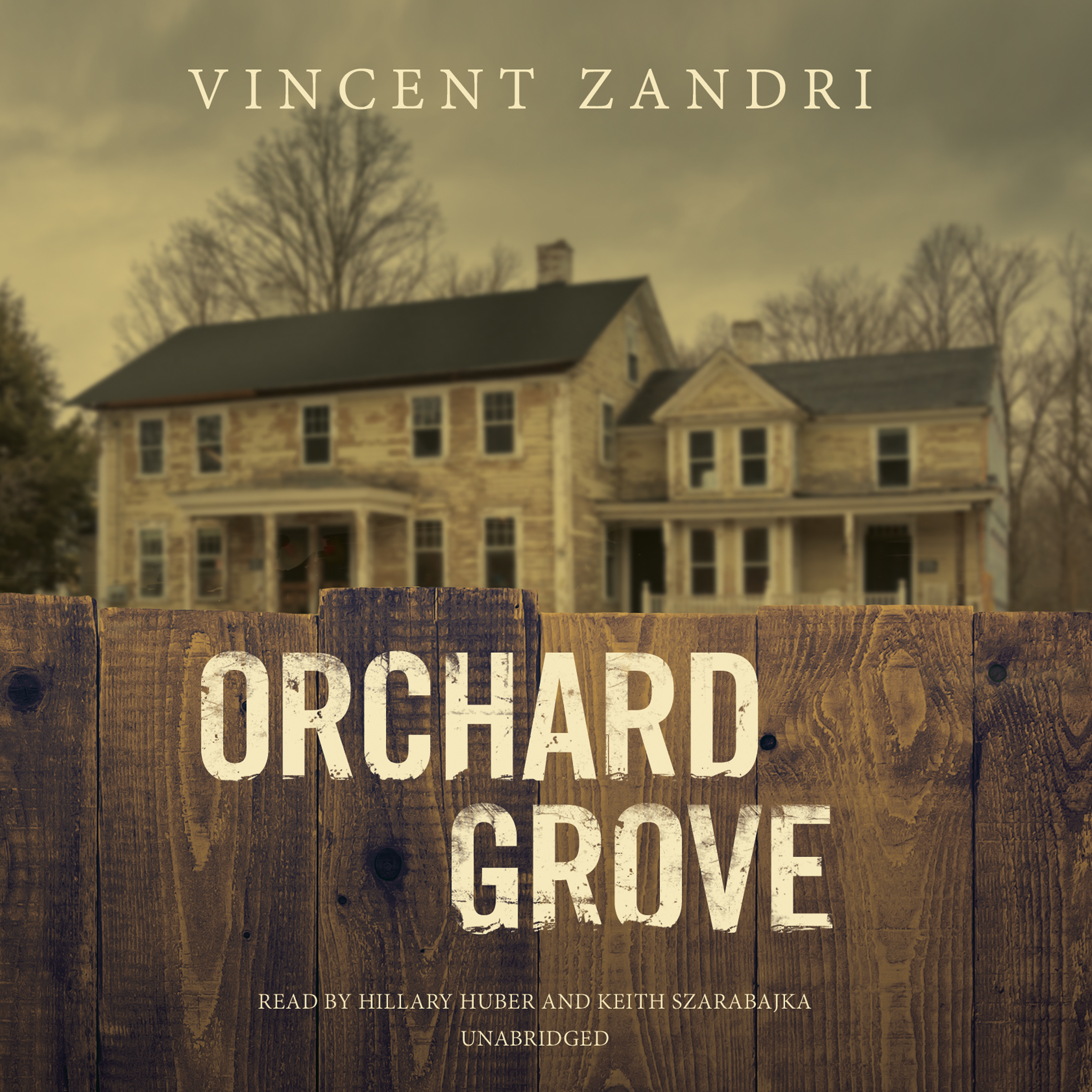 Printable Orchard Grove Audiobook Cover Art