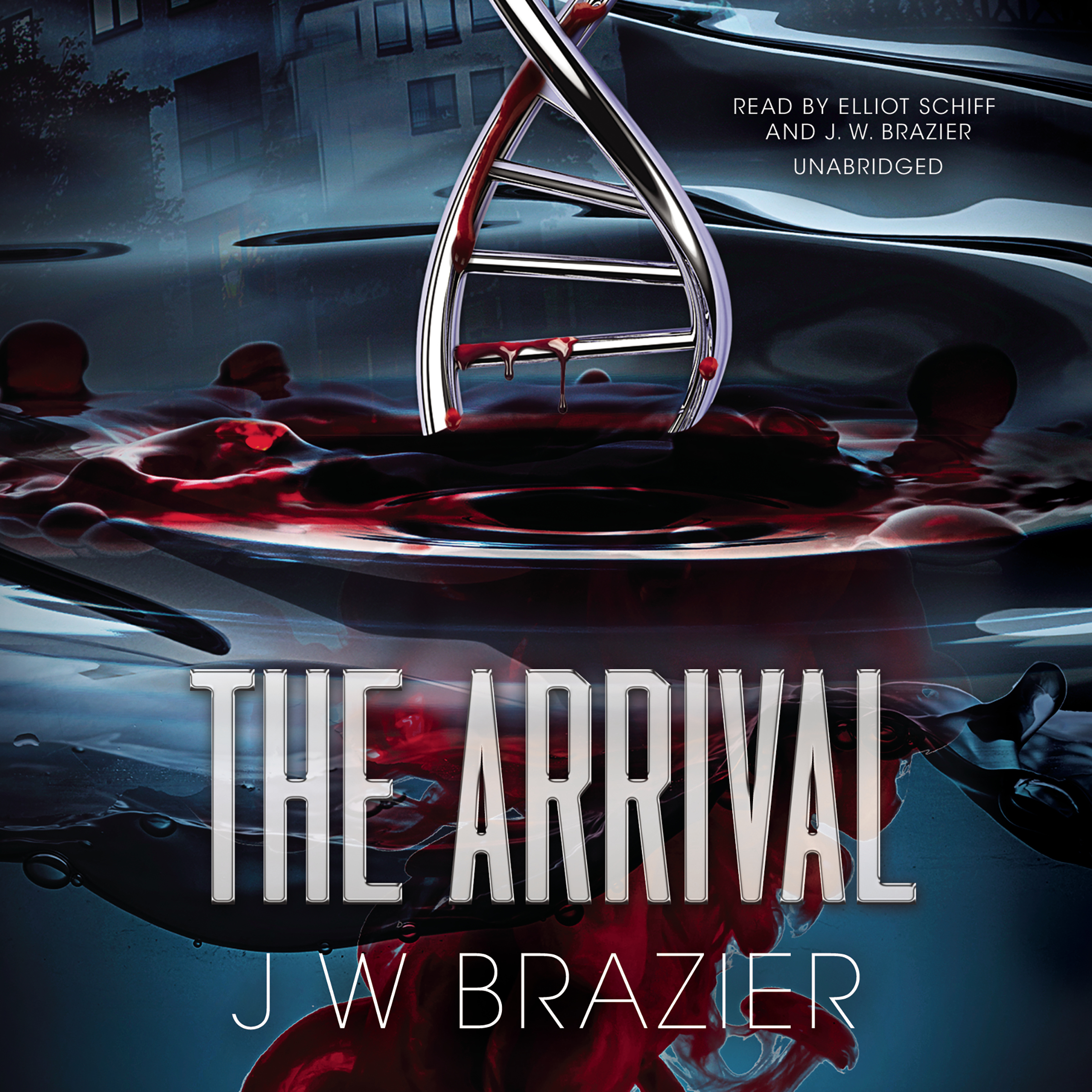Printable The Arrival Audiobook Cover Art