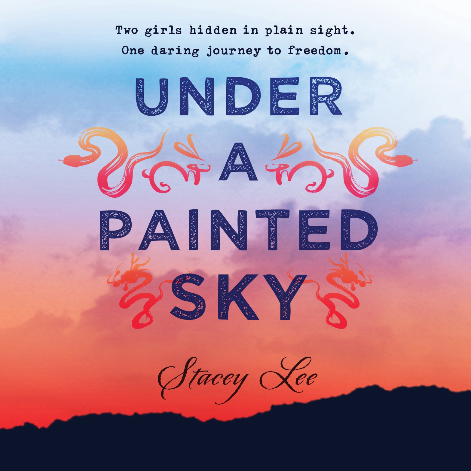 Printable Under a Painted Sky Audiobook Cover Art