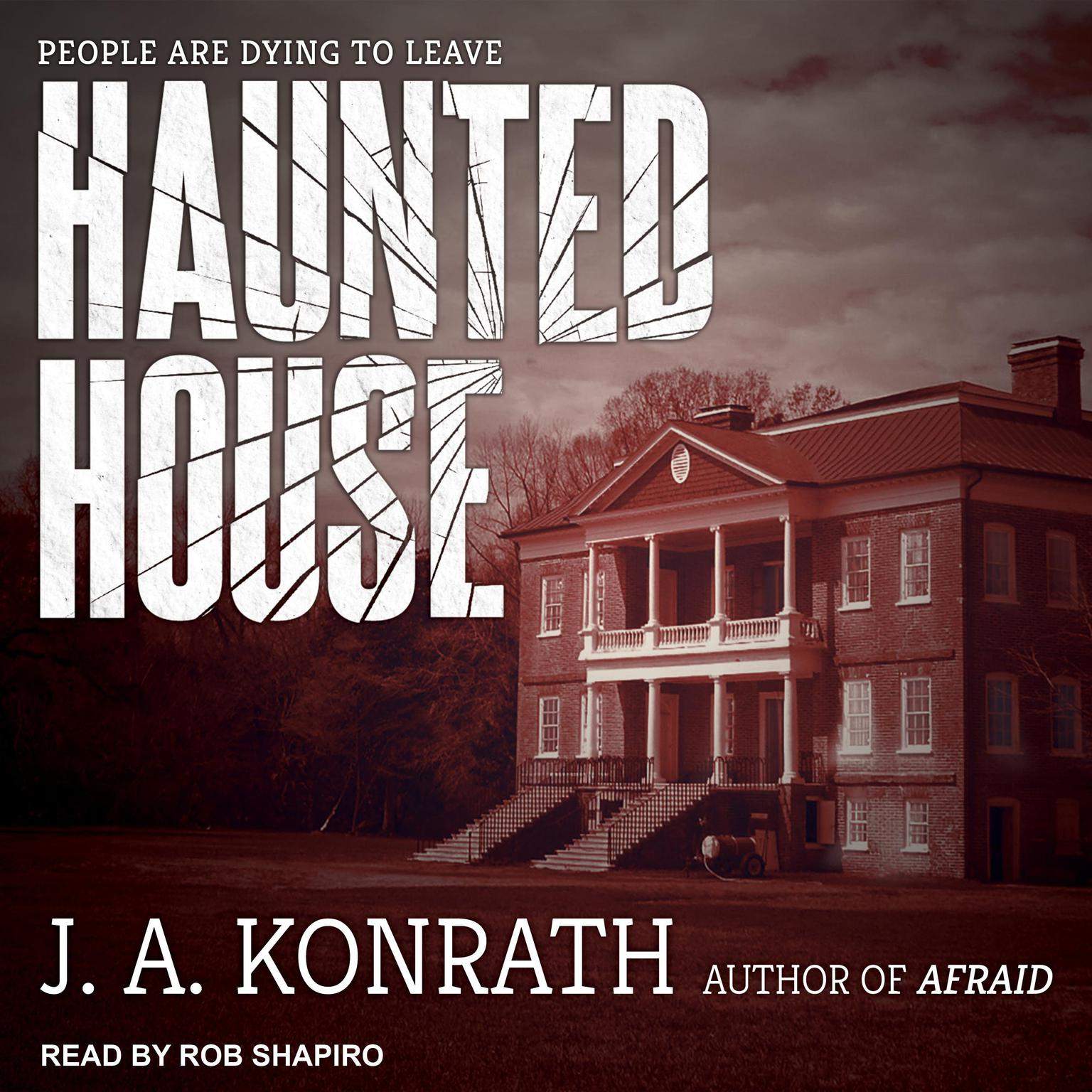 Printable Haunted House Audiobook Cover Art