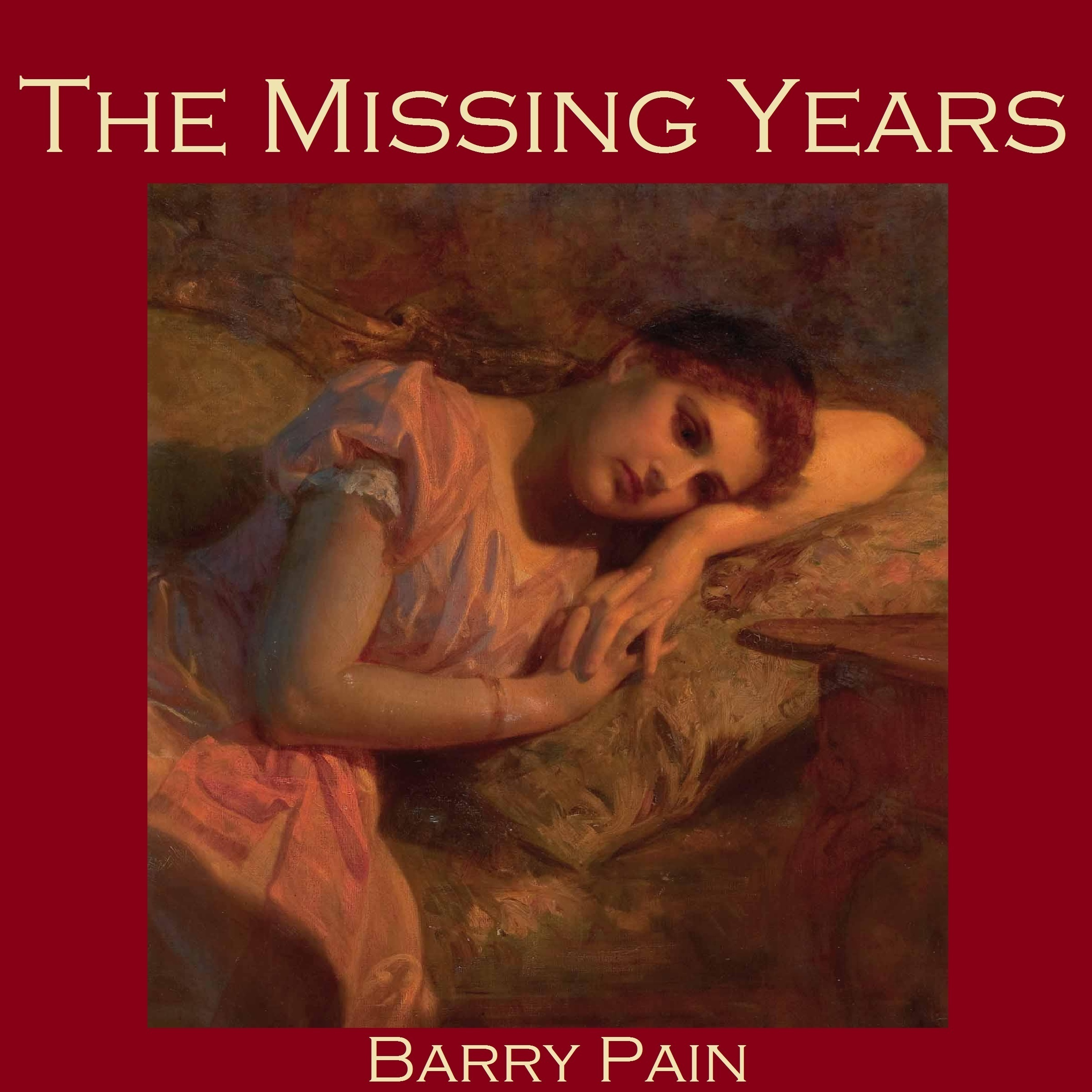 Printable The Missing Years Audiobook Cover Art