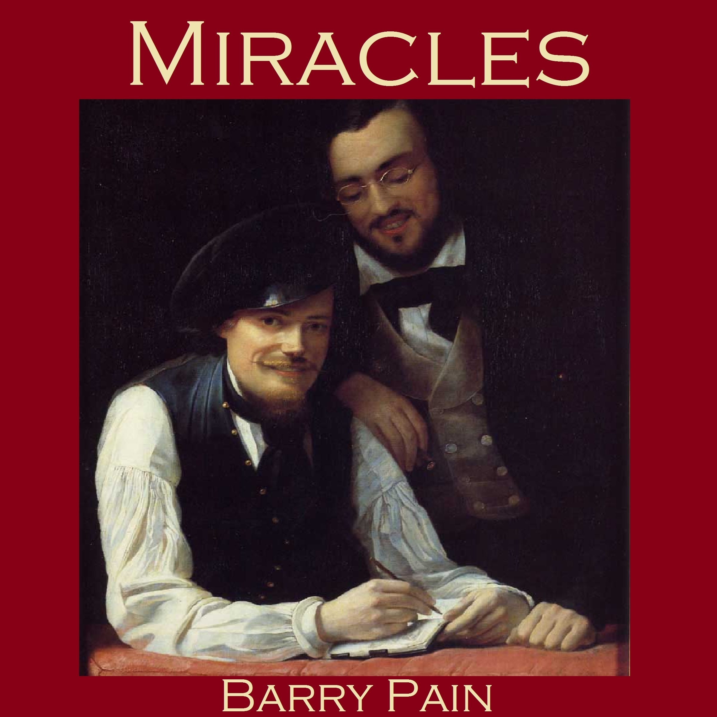 Printable Miracles Audiobook Cover Art