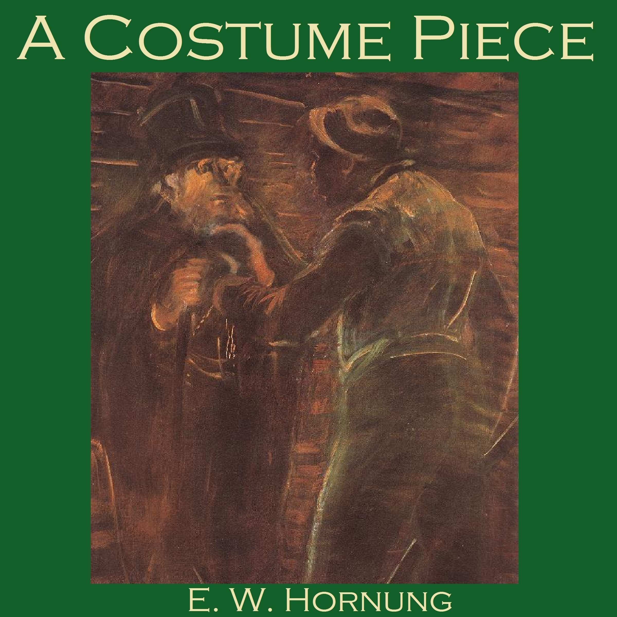 Printable A Costume Piece:  A Raffles Mystery Audiobook Cover Art