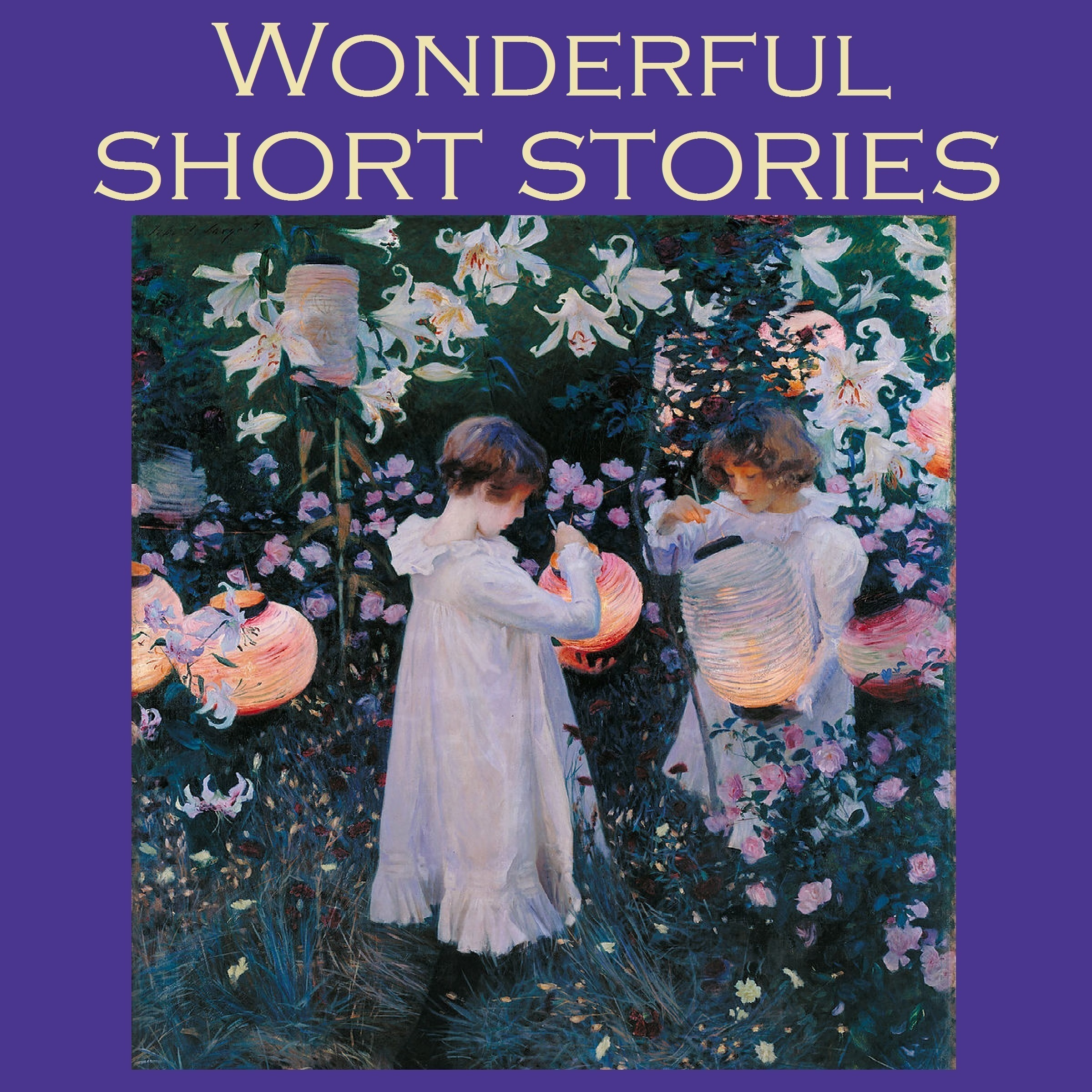 Printable Wonderful Short Stories: Fifty Outstanding Classic Tales Audiobook Cover Art