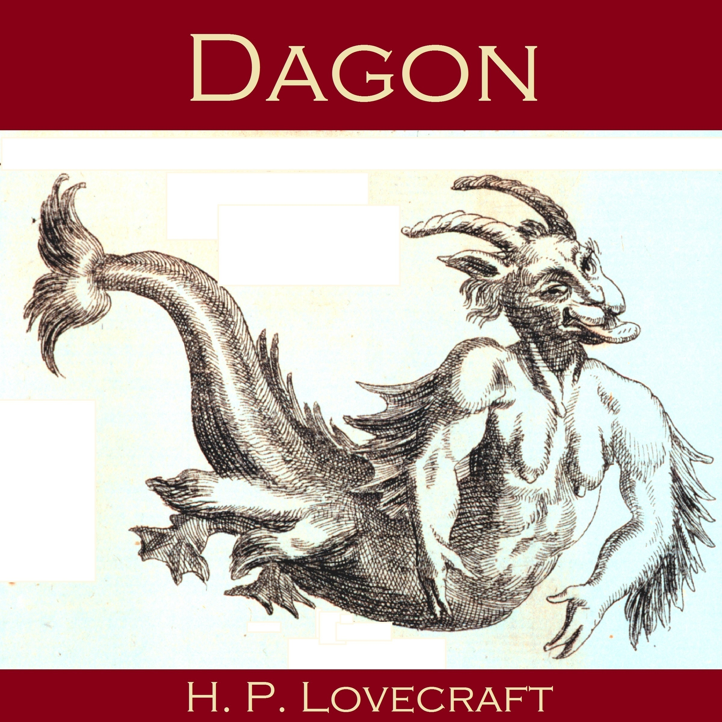 Printable Dagon Audiobook Cover Art