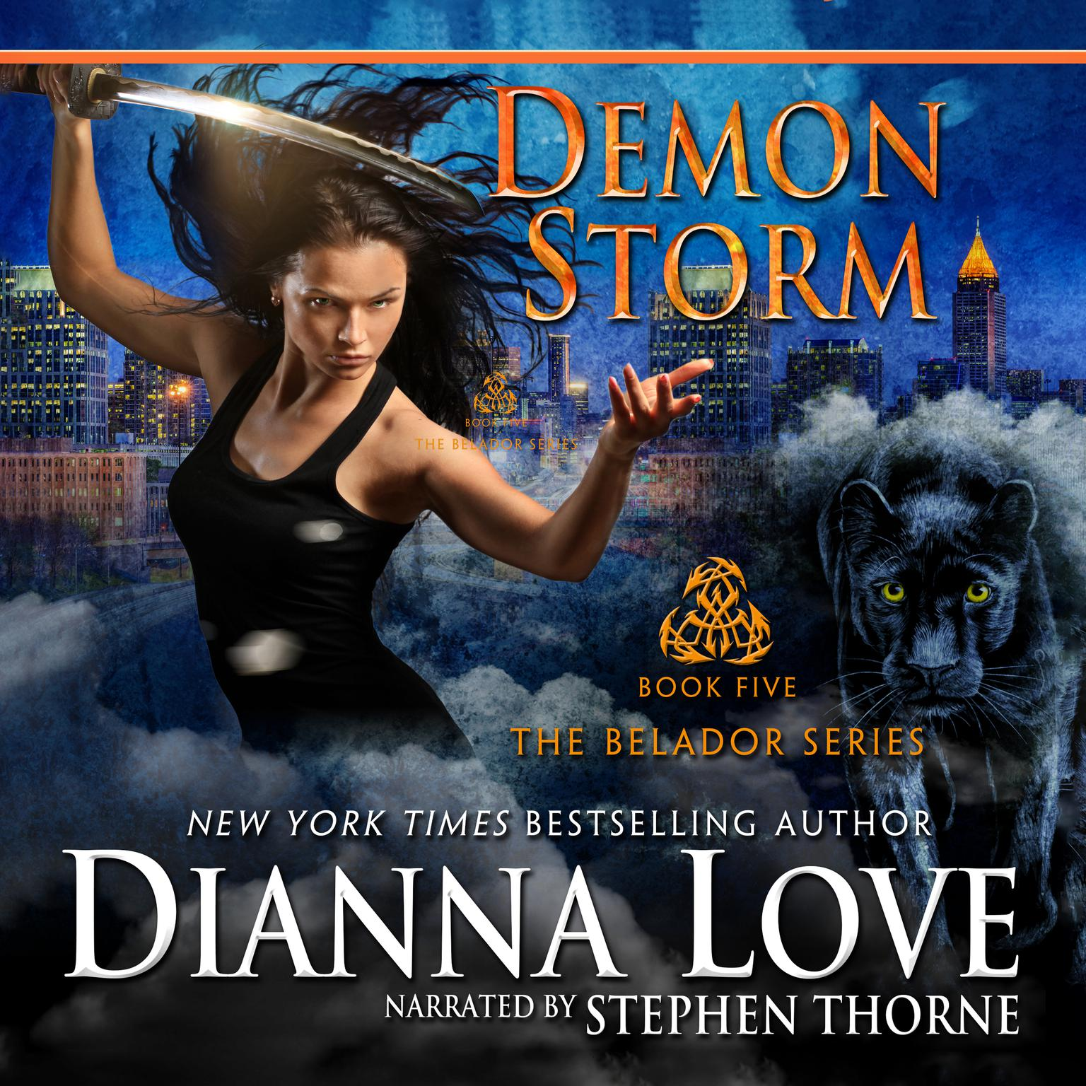 Printable Demon Storm Audiobook Cover Art