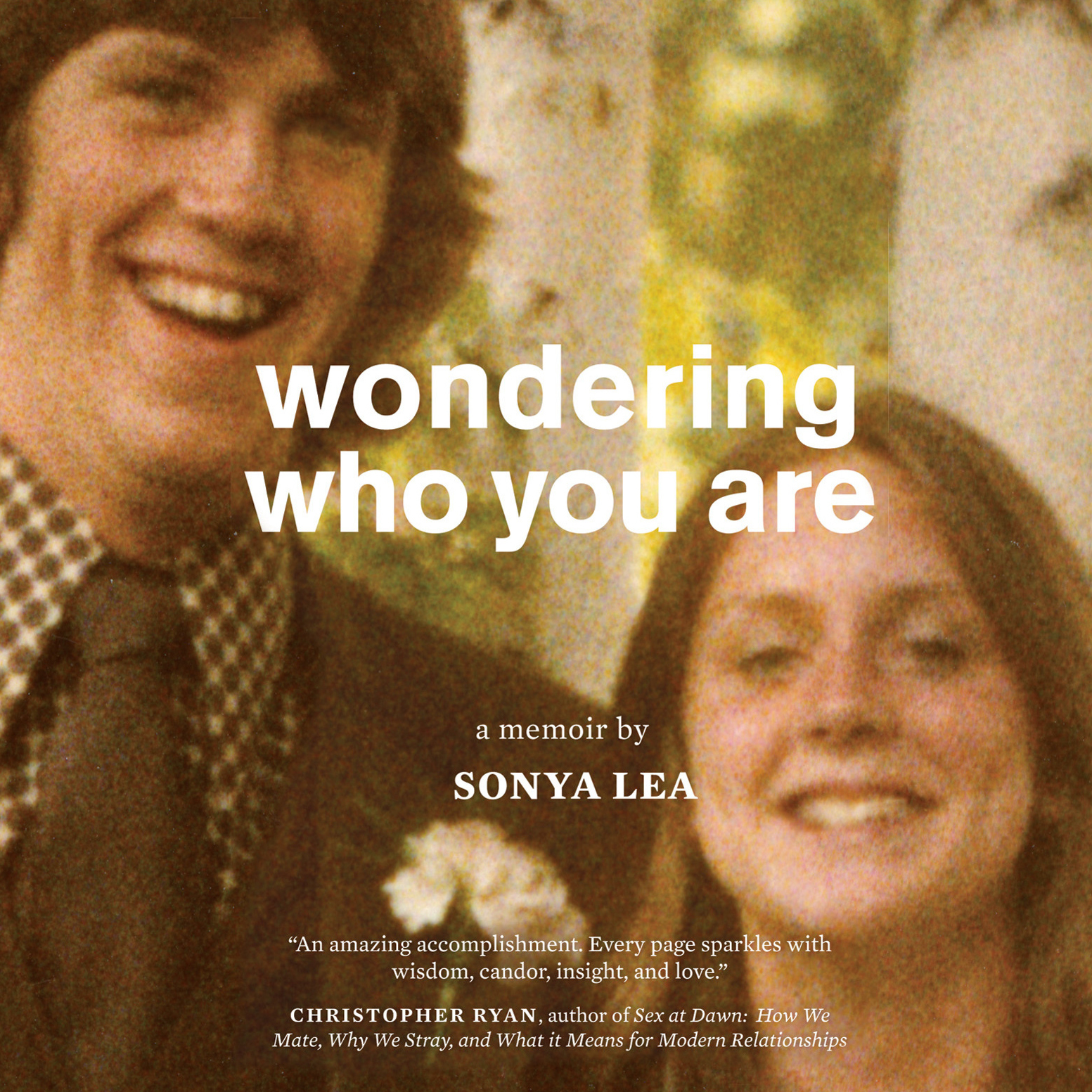 Printable Wondering Who You Are: A Memoir Audiobook Cover Art