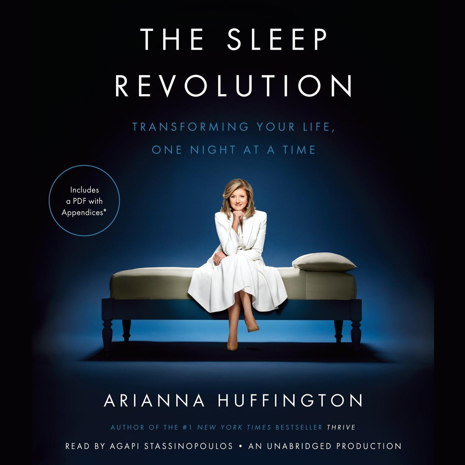 Printable The Sleep Revolution: Transforming Your Life, One Night at a Time Audiobook Cover Art