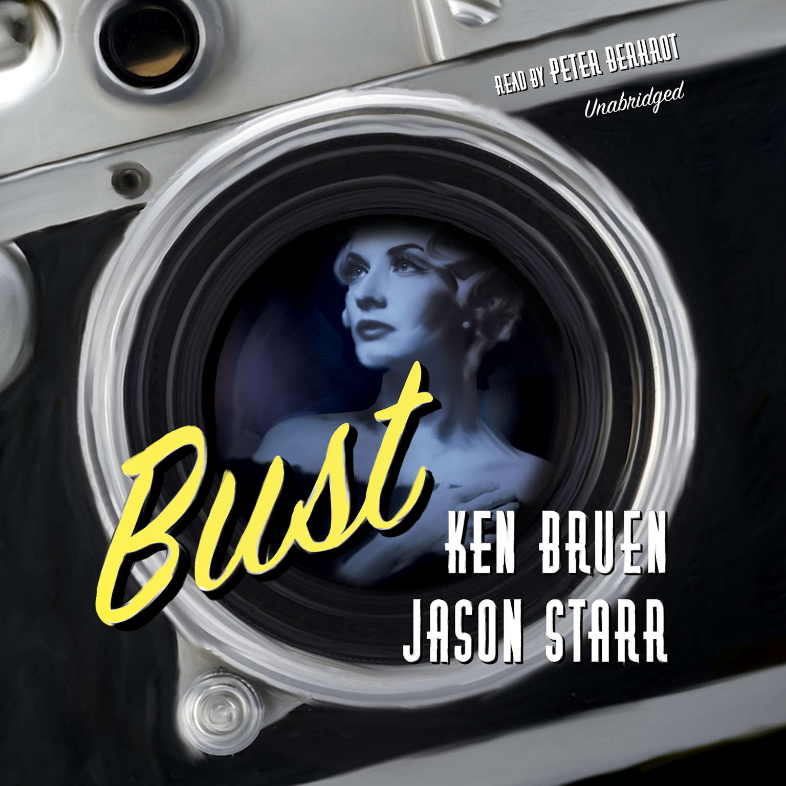 Printable Bust Audiobook Cover Art