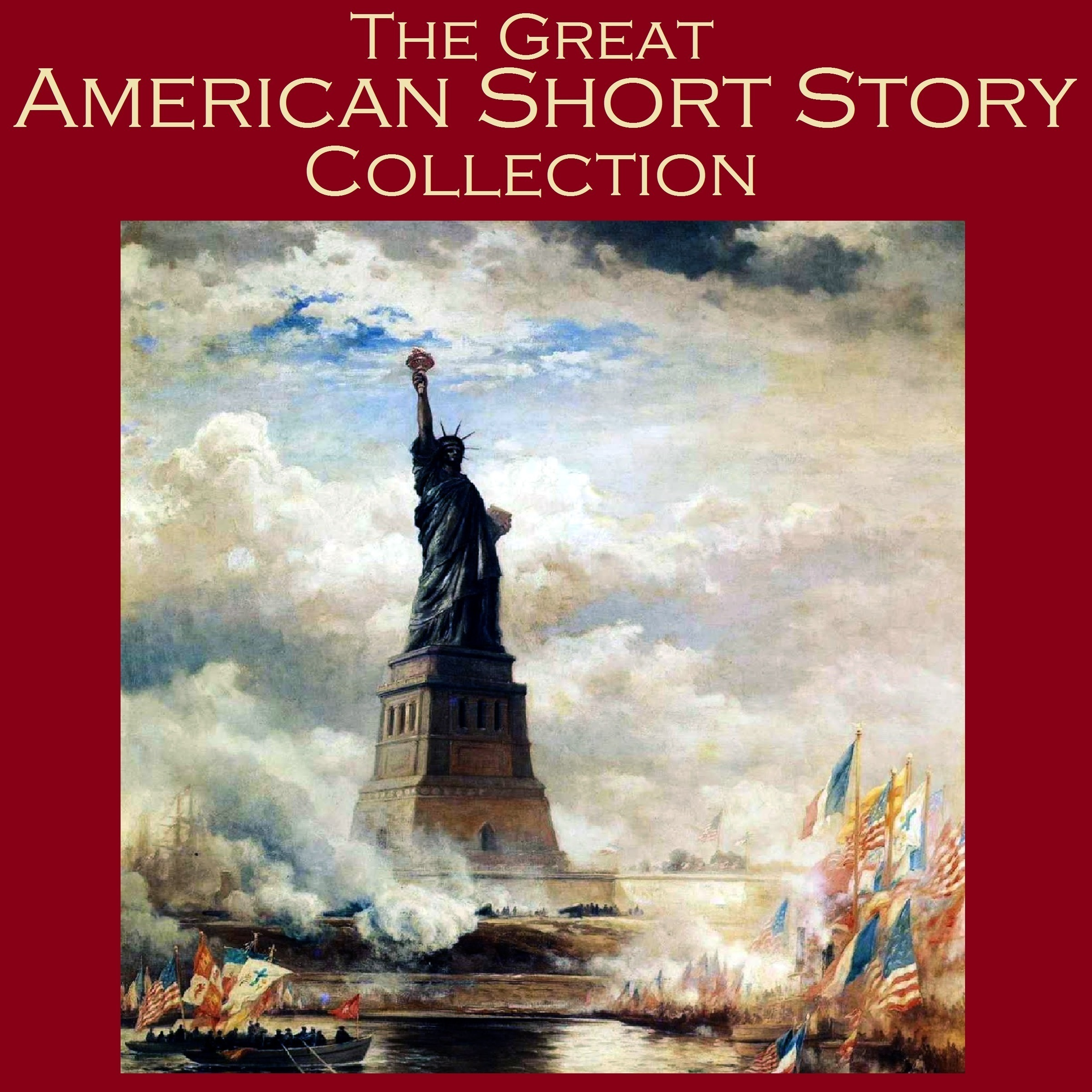Printable The Great American Short Story Collection Audiobook Cover Art