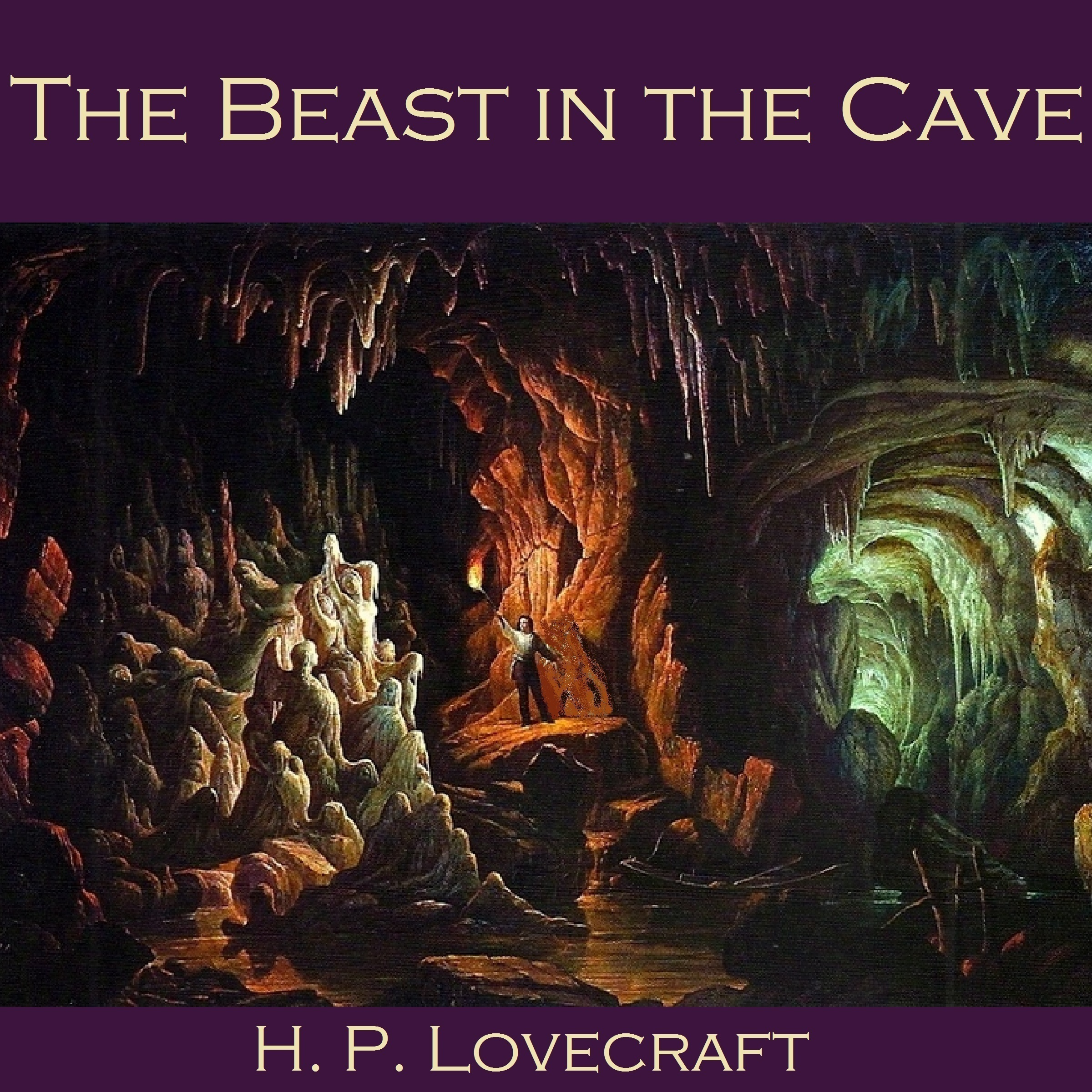 Printable The Beast in the Cave Audiobook Cover Art