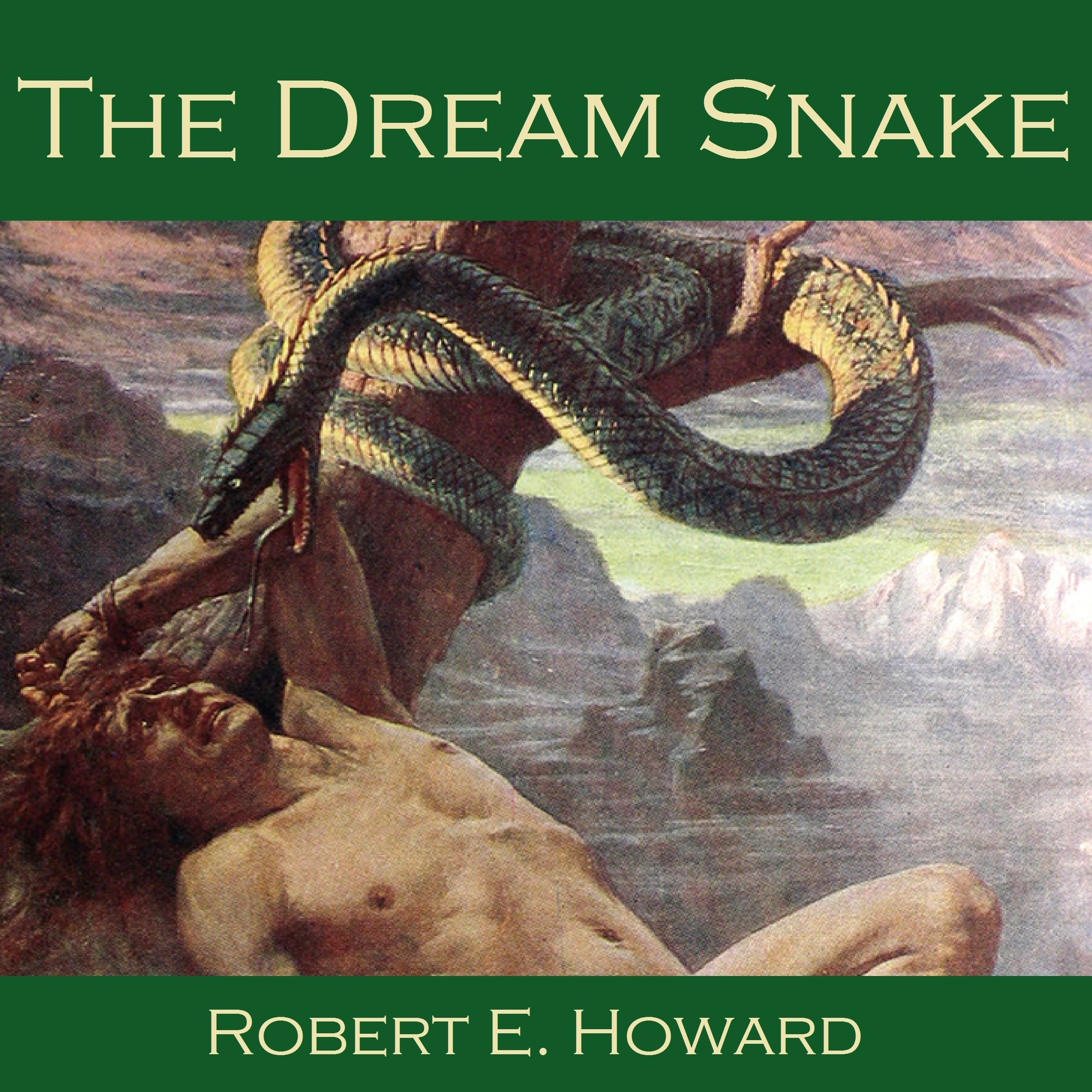 Printable The Dream Snake Audiobook Cover Art