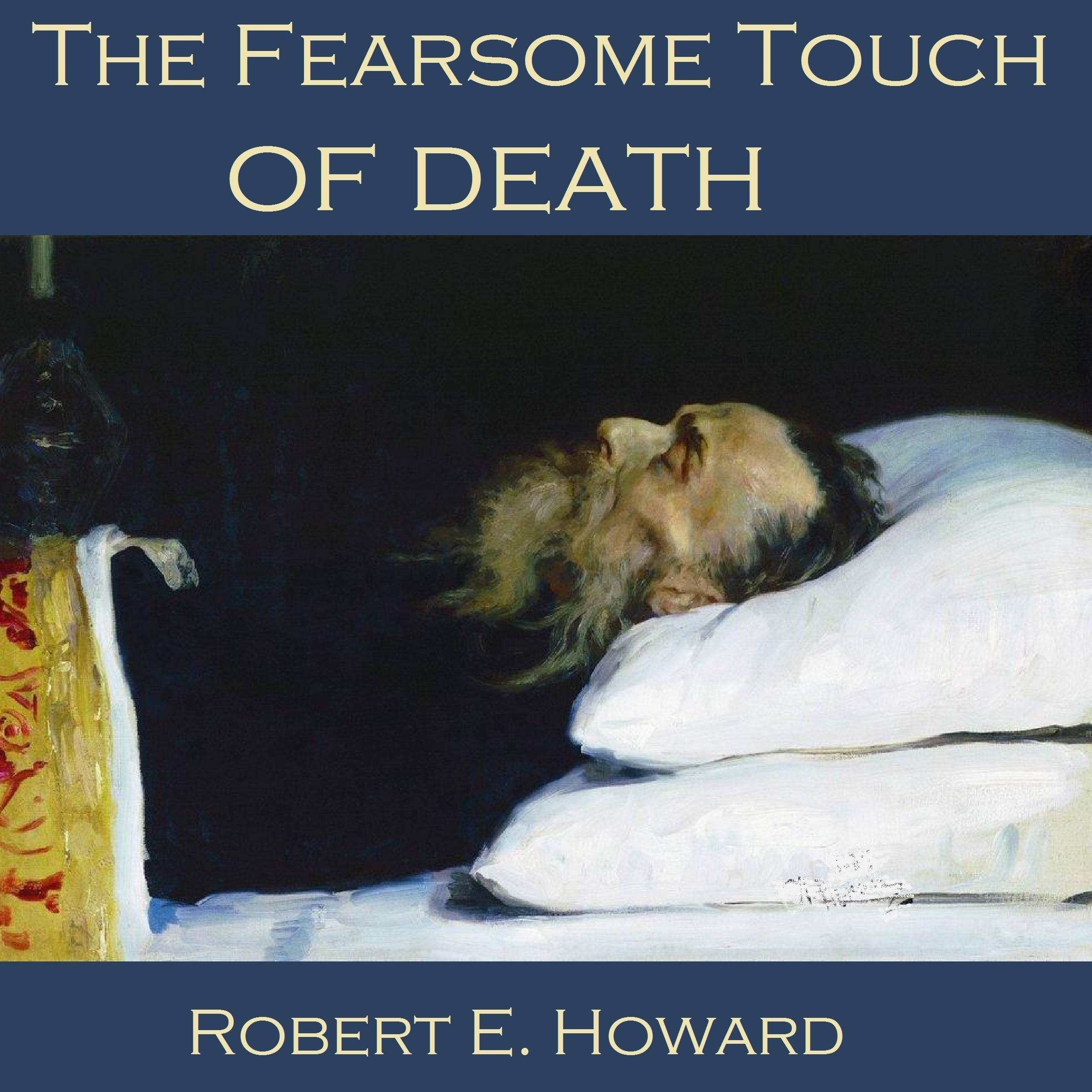 Printable The Fearsome Touch of Death Audiobook Cover Art