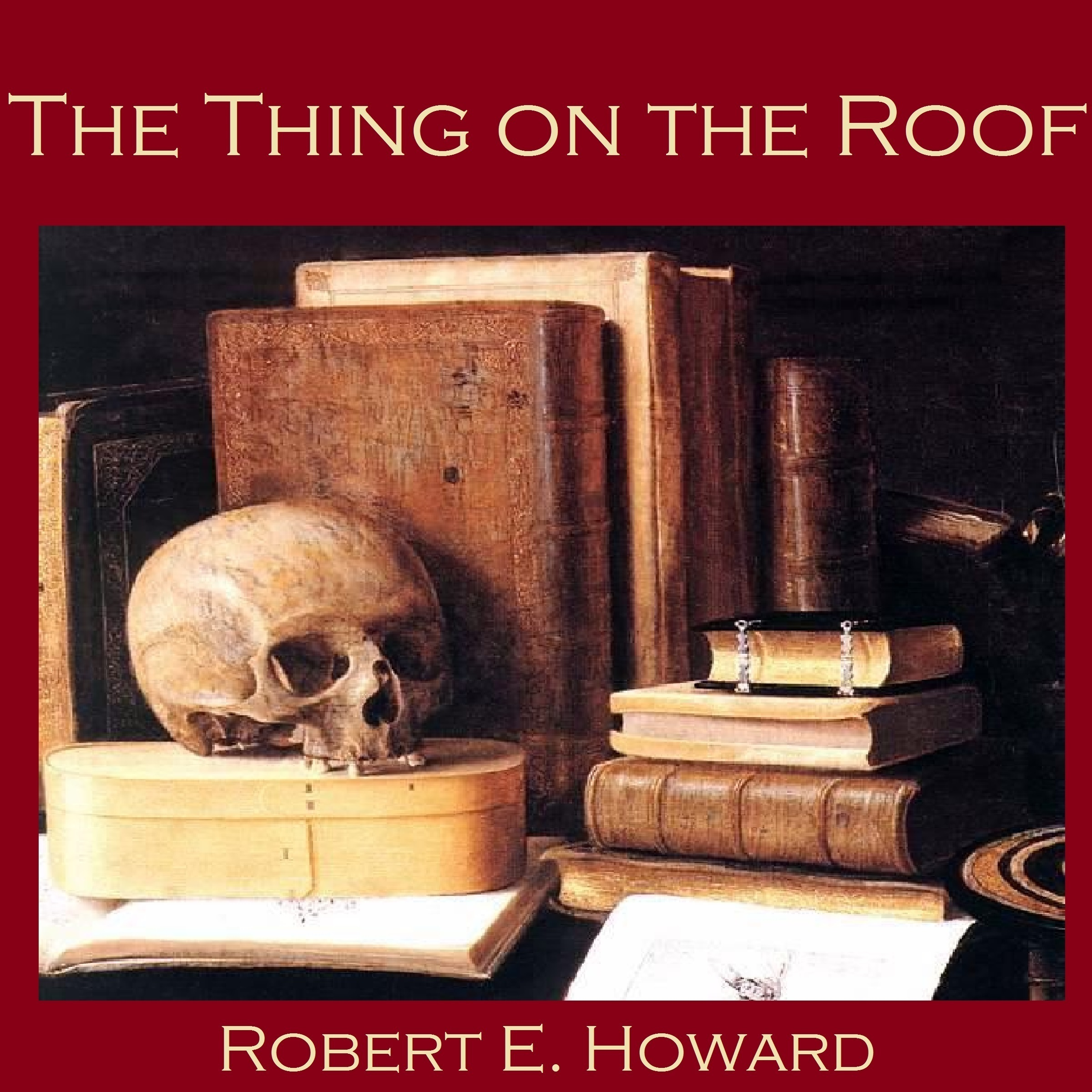 Printable The Thing on the Roof Audiobook Cover Art
